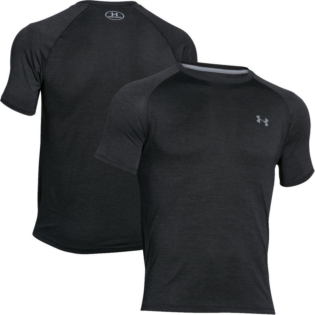Under armour 2017 mens ua t shirt heatgear tech short for Under armour lifting shirts
