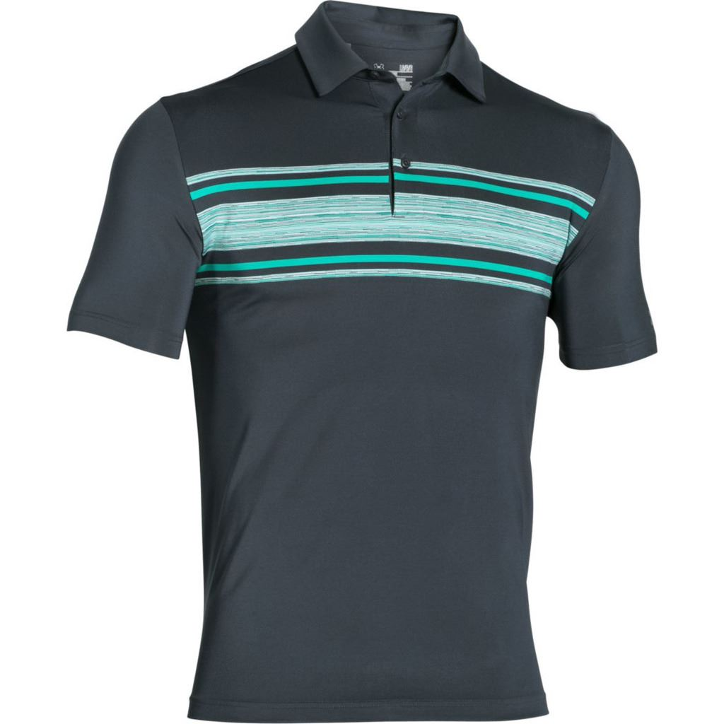 Under Armour 2016 Playoff Performance Funky Mens Golf Polo