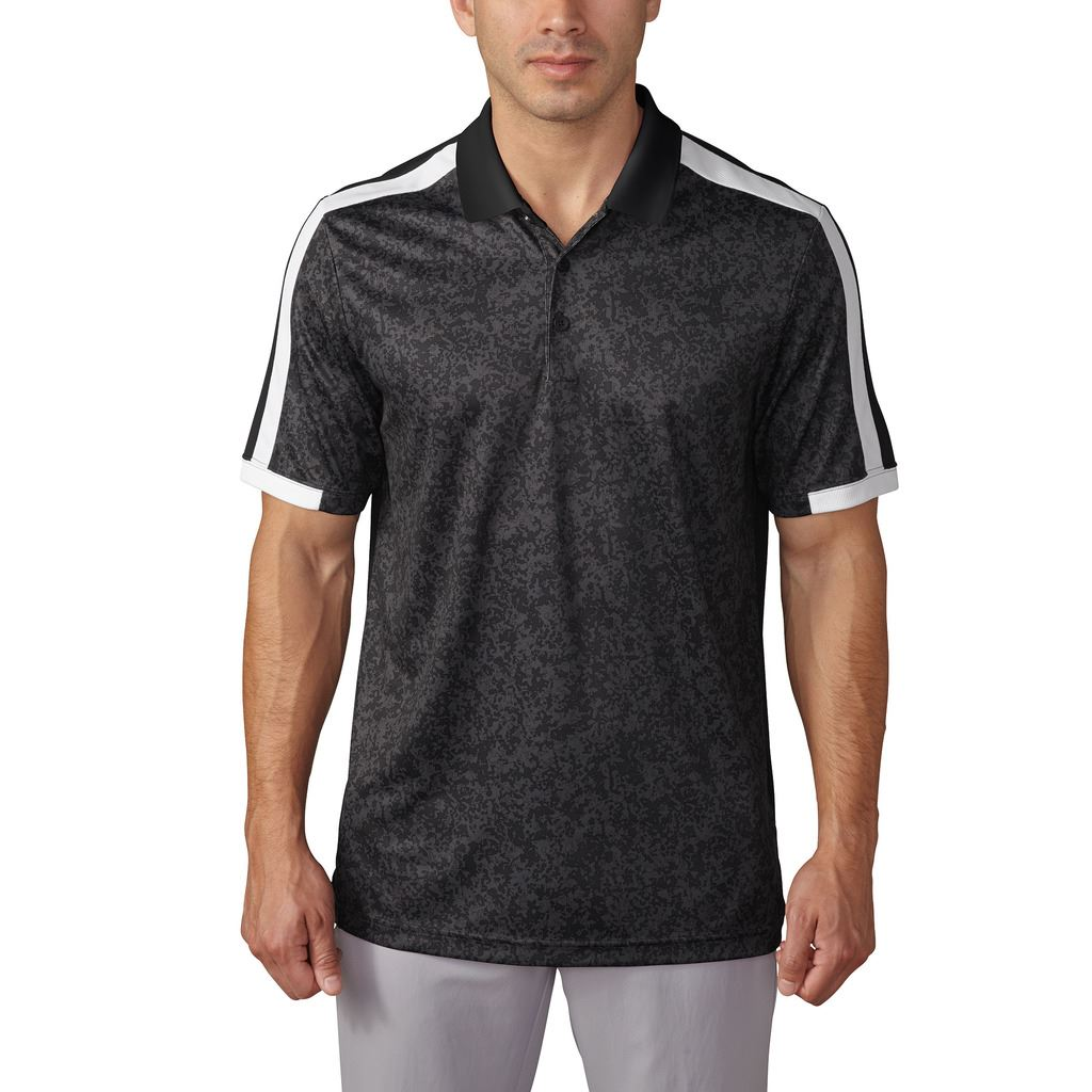 Adidas 2016 climacool engineered camo block mens golf for Camo polo shirts for men