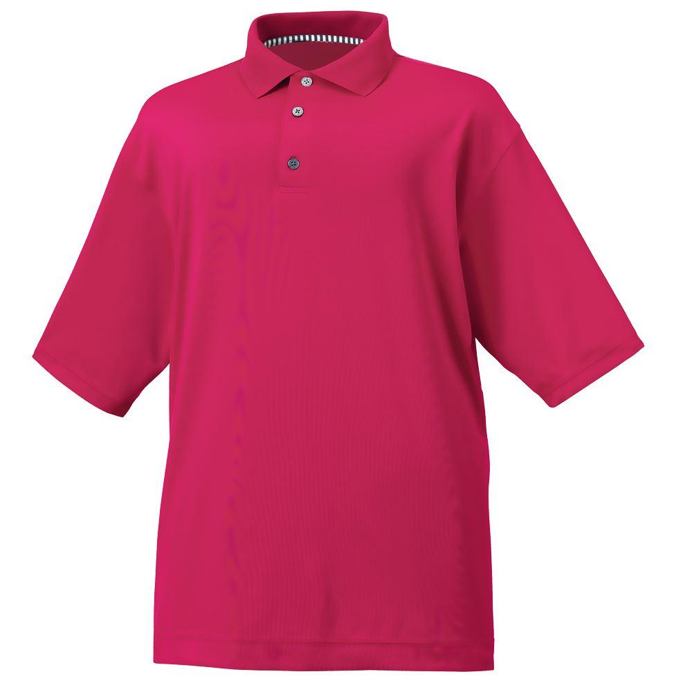 2015 footjoy mens stretch lisle golf polo shirt athletic for Stretch polo shirt mens