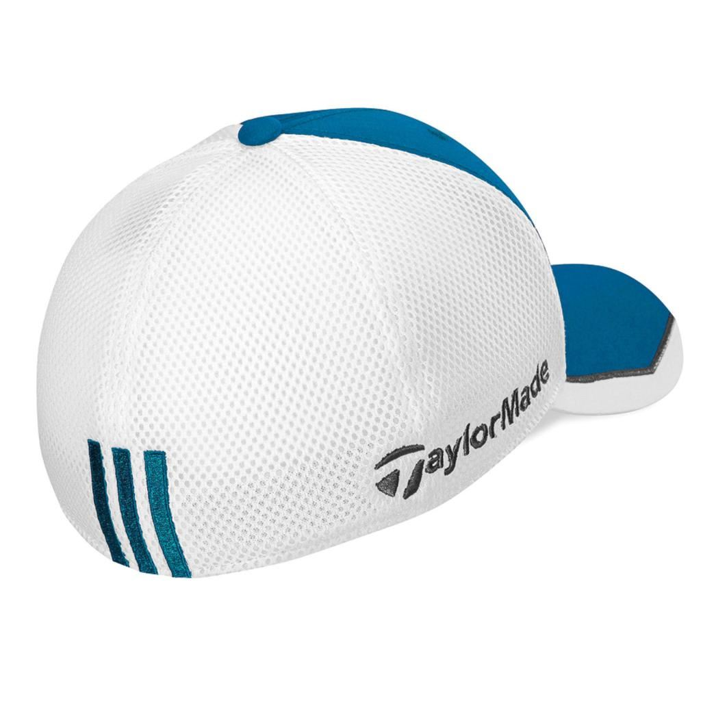 Adidas TaylorMade R15 Tour Mesh Flex-Fit Hat Structured Mens Golf ... e755202ca2c
