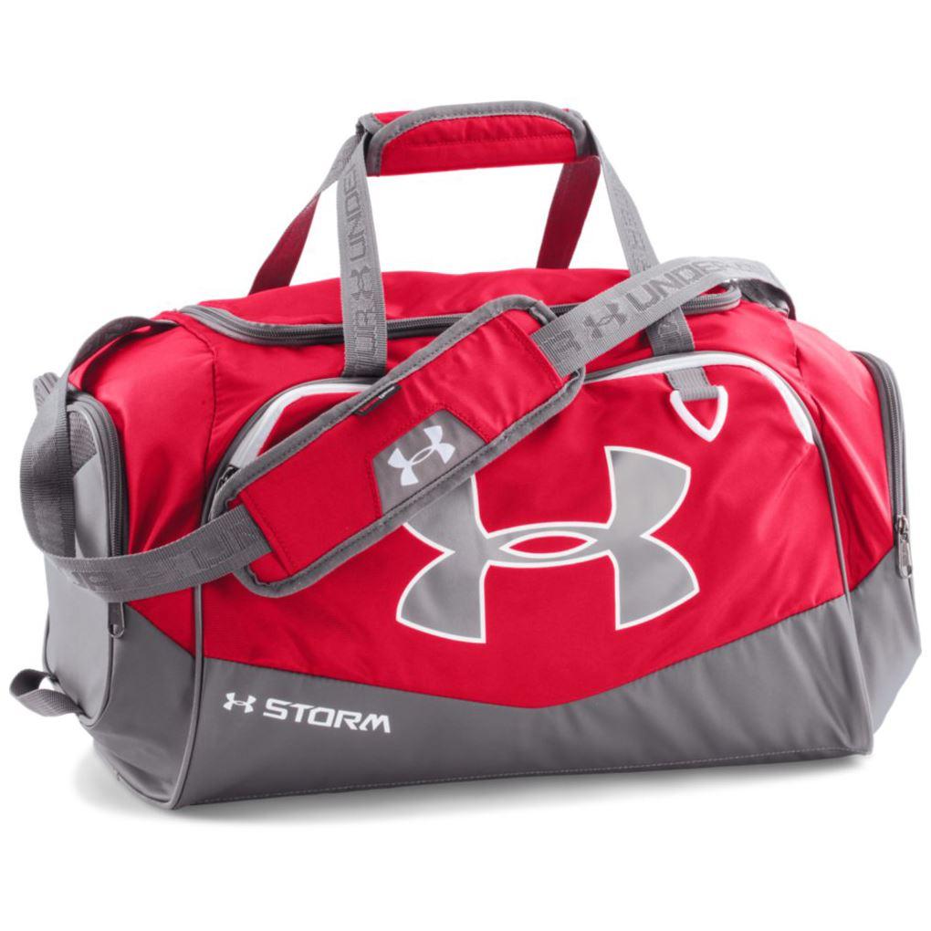 sale 40 off under armour undeniable small duffel ii storm gym bag travel bag ebay. Black Bedroom Furniture Sets. Home Design Ideas