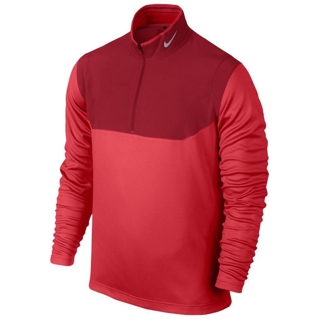 2015 nike dri fit half zip pull hommes golf cover up. Black Bedroom Furniture Sets. Home Design Ideas