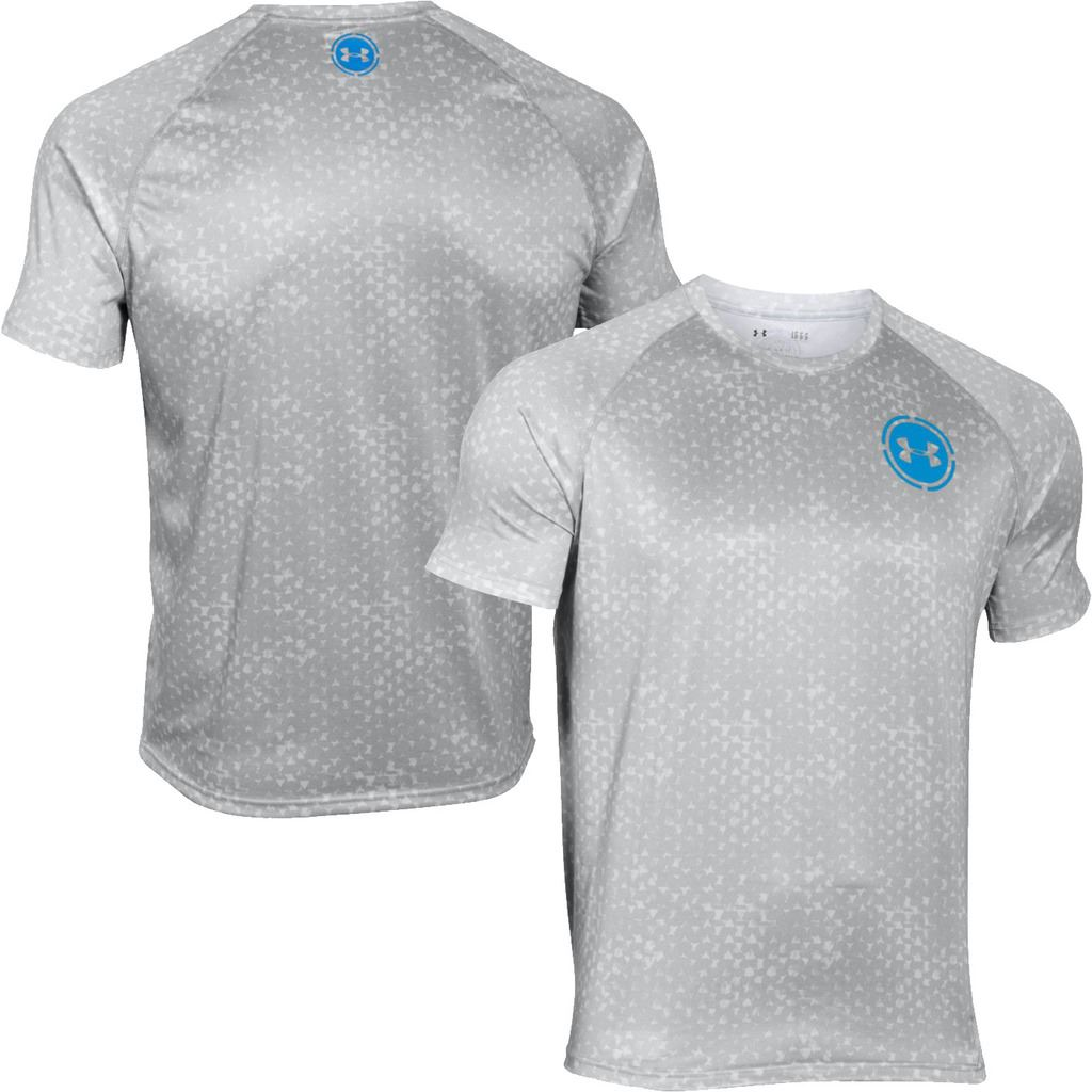Under armour 2016 tech scope printed t shirt mens ss for Under armour printed t shirts