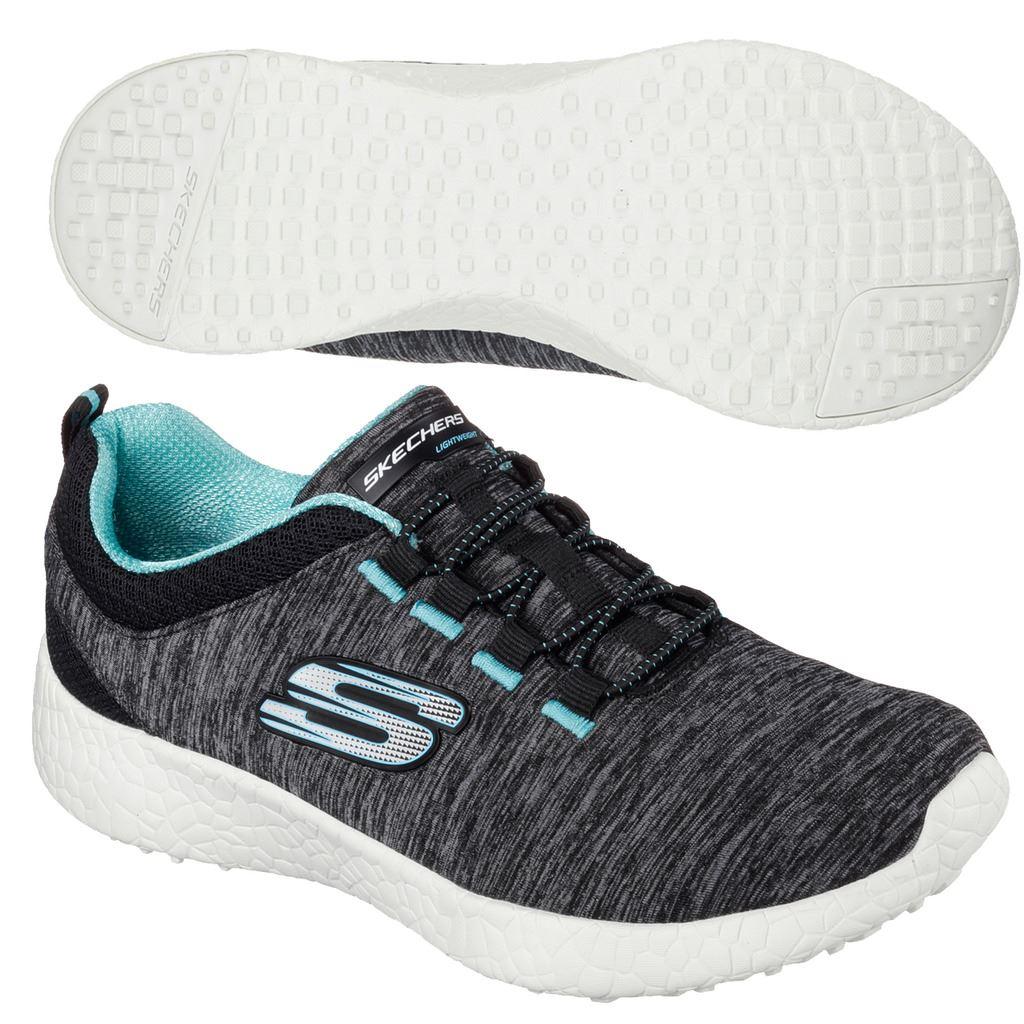 Skechers Burst Equinox Air Cooled Lightweight Womens Street Walking Shoes