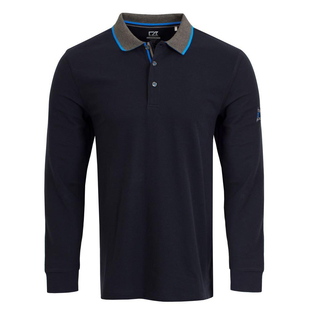 2016 Cutter Buck Portland Drytech Long Sleeve Top Mens