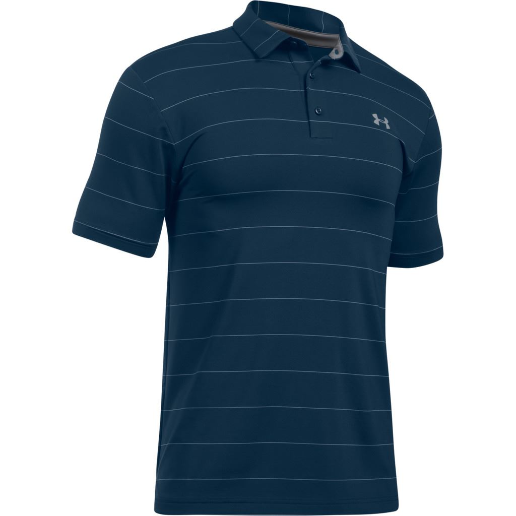 New for 2017 under armour playoff polo mens golf for Mens under armour golf shirts