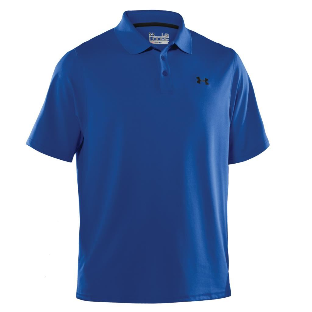 sale under armour performance heatgear golf polo shirt now