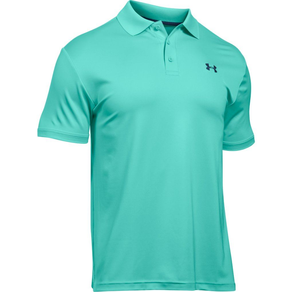 new 2017 under armour men 39 s golf performance 2 0 logo mens golf polo shirt ebay. Black Bedroom Furniture Sets. Home Design Ideas