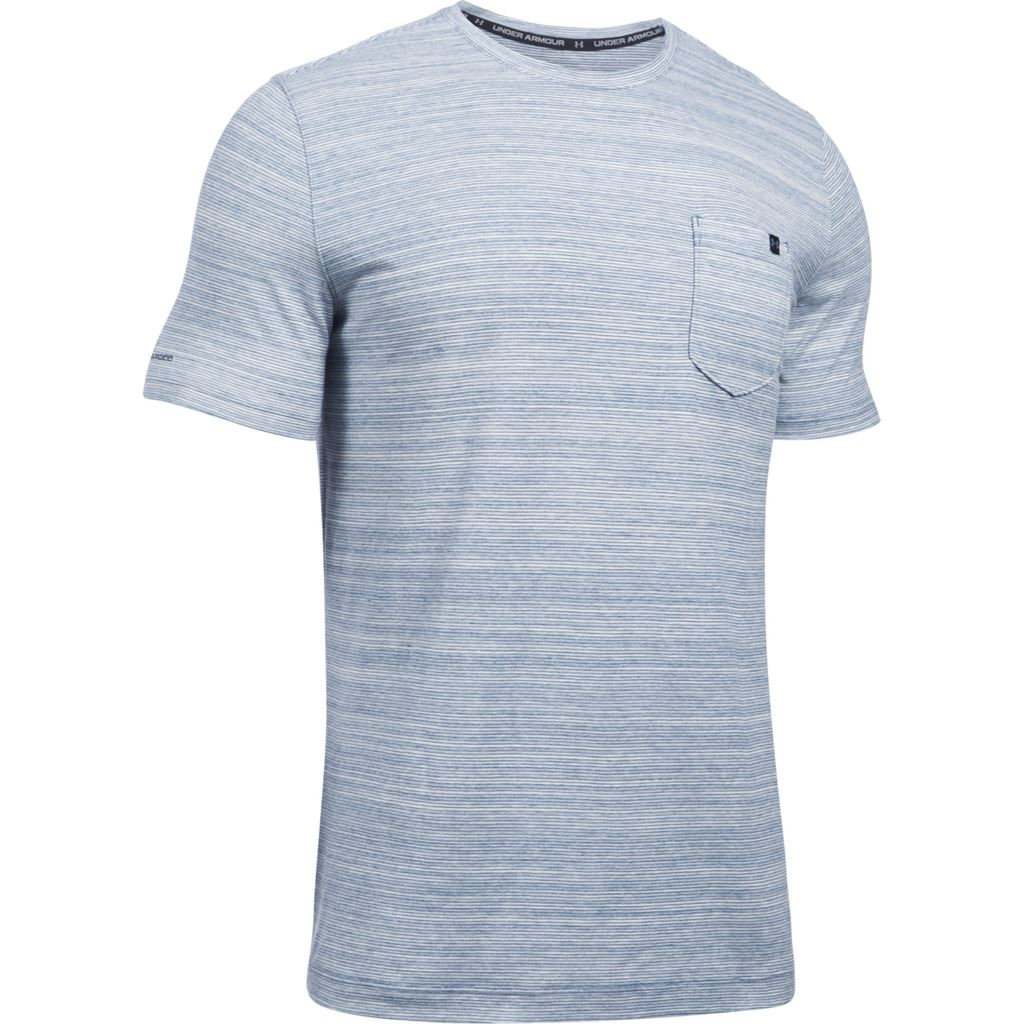 under armour 2017 charged cotton mens short sleeve pocket