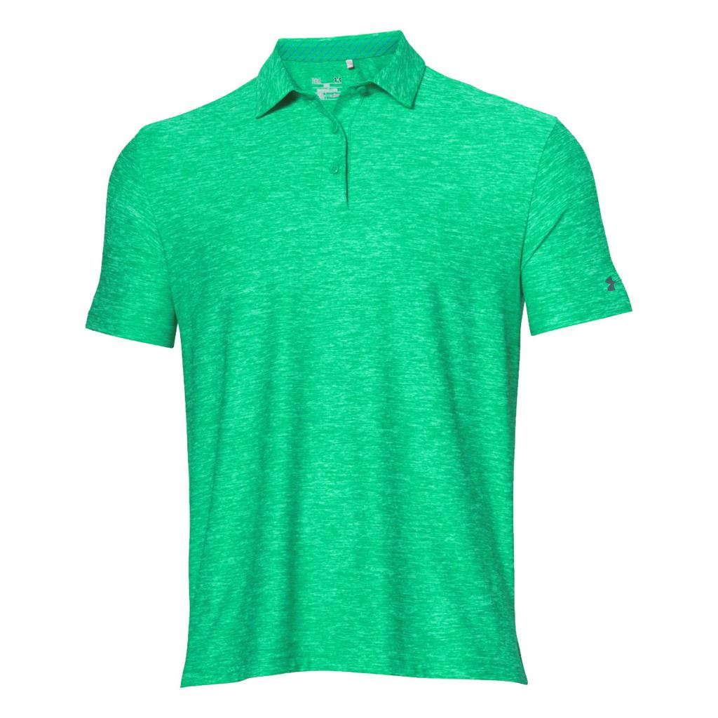 Under armour 2016 playoff crestable heatgear performance for Mens under armour golf shirts