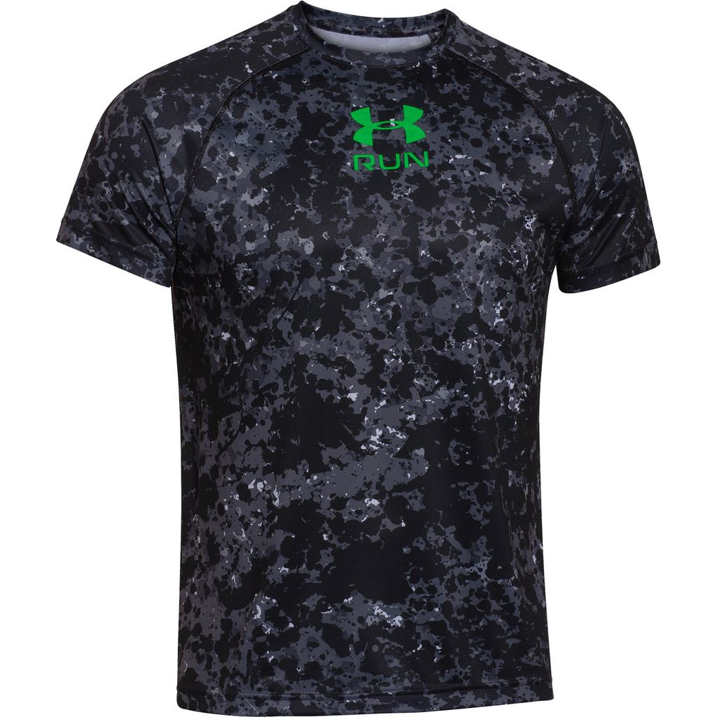Sale under armour funky tech run graphic tee mens for Under armour tee shirts sale