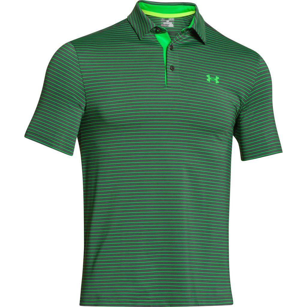 2015 Under Armour Playoff Performance Funky Mens Golf Polo