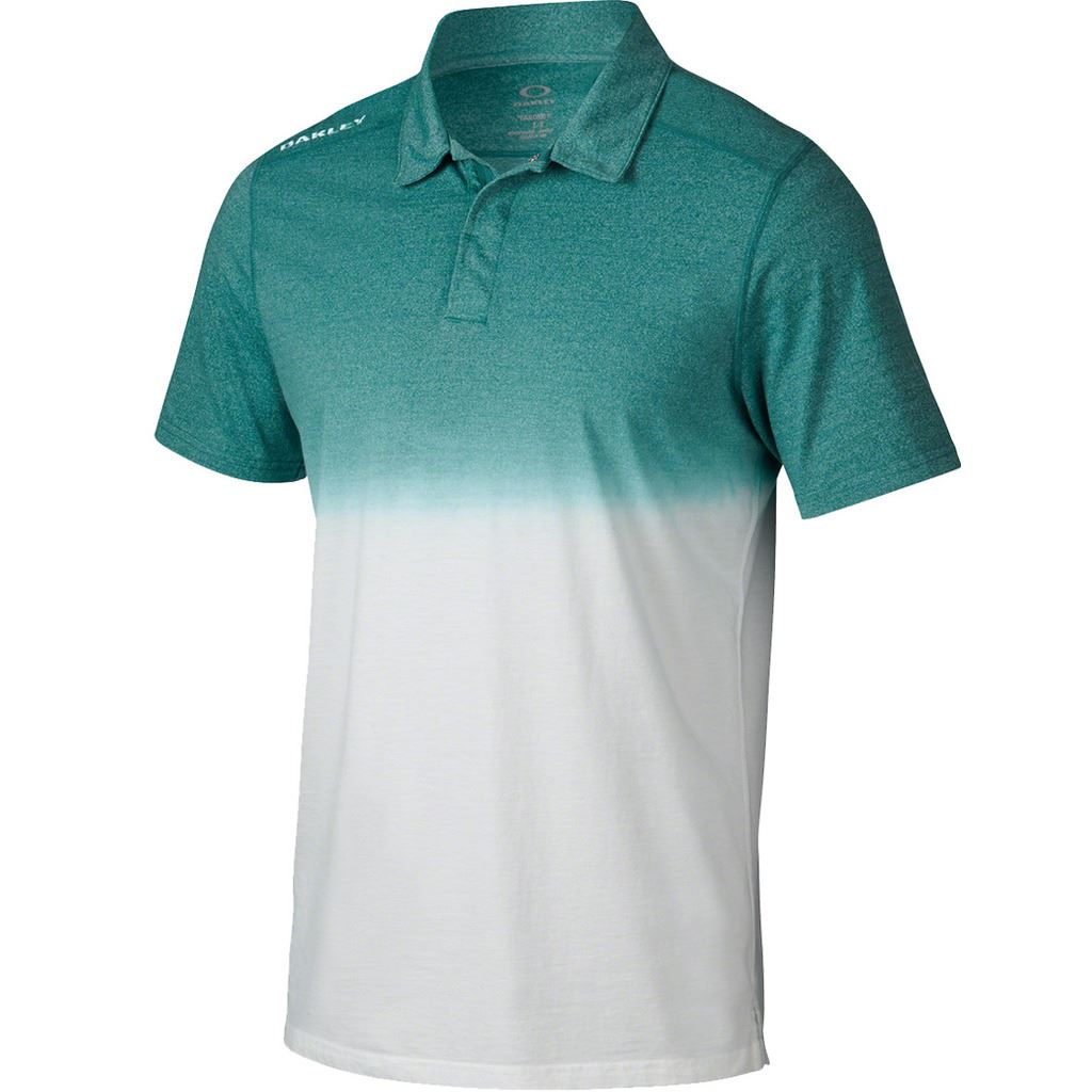 2015 oakley conley top mens golf polo shirt ebay for Mens golf polo shirts