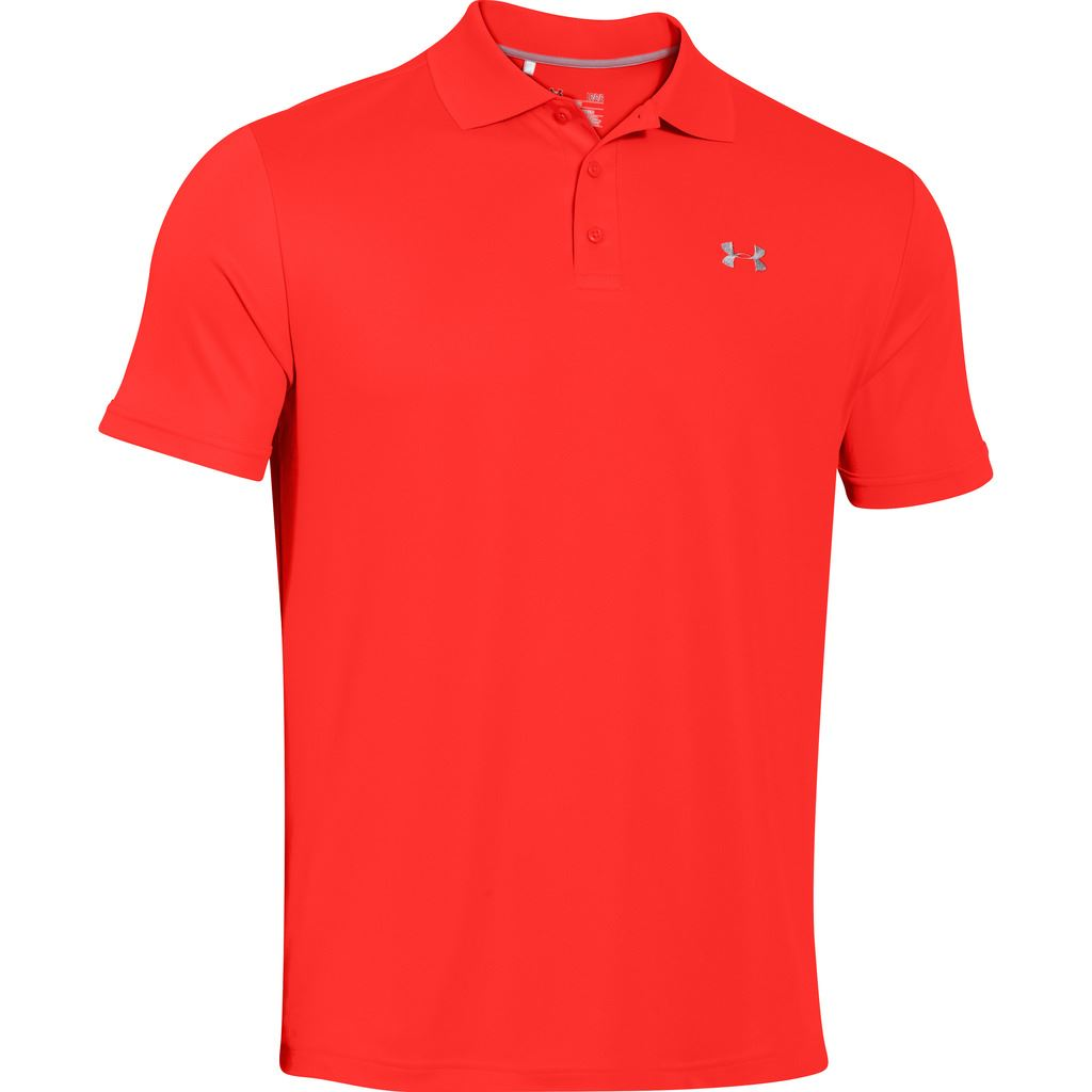 2015 under armour mens heatgear performance 2 0 golf polo for Under armour embroidered polo shirts