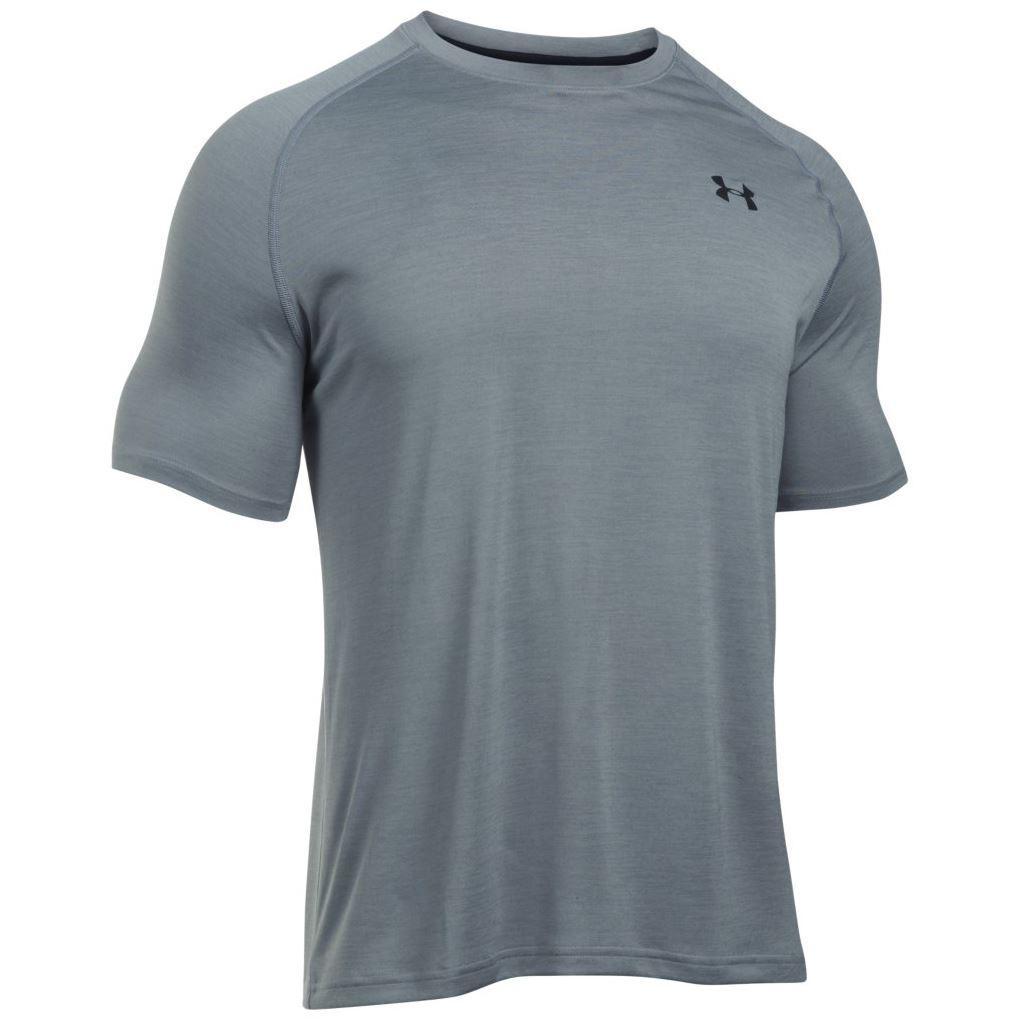 under armour 2017 mens ua t shirt heatgear tech short sleeve training sports tee ebay. Black Bedroom Furniture Sets. Home Design Ideas