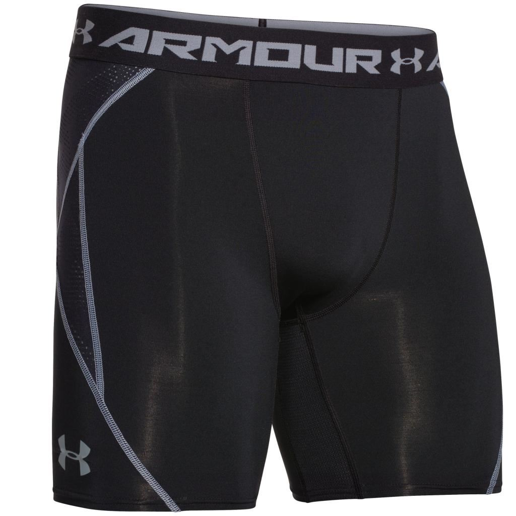 2016 Under Armour Mens HeatGear Armourvent Performance ...Compression Shorts For Men Under Armour