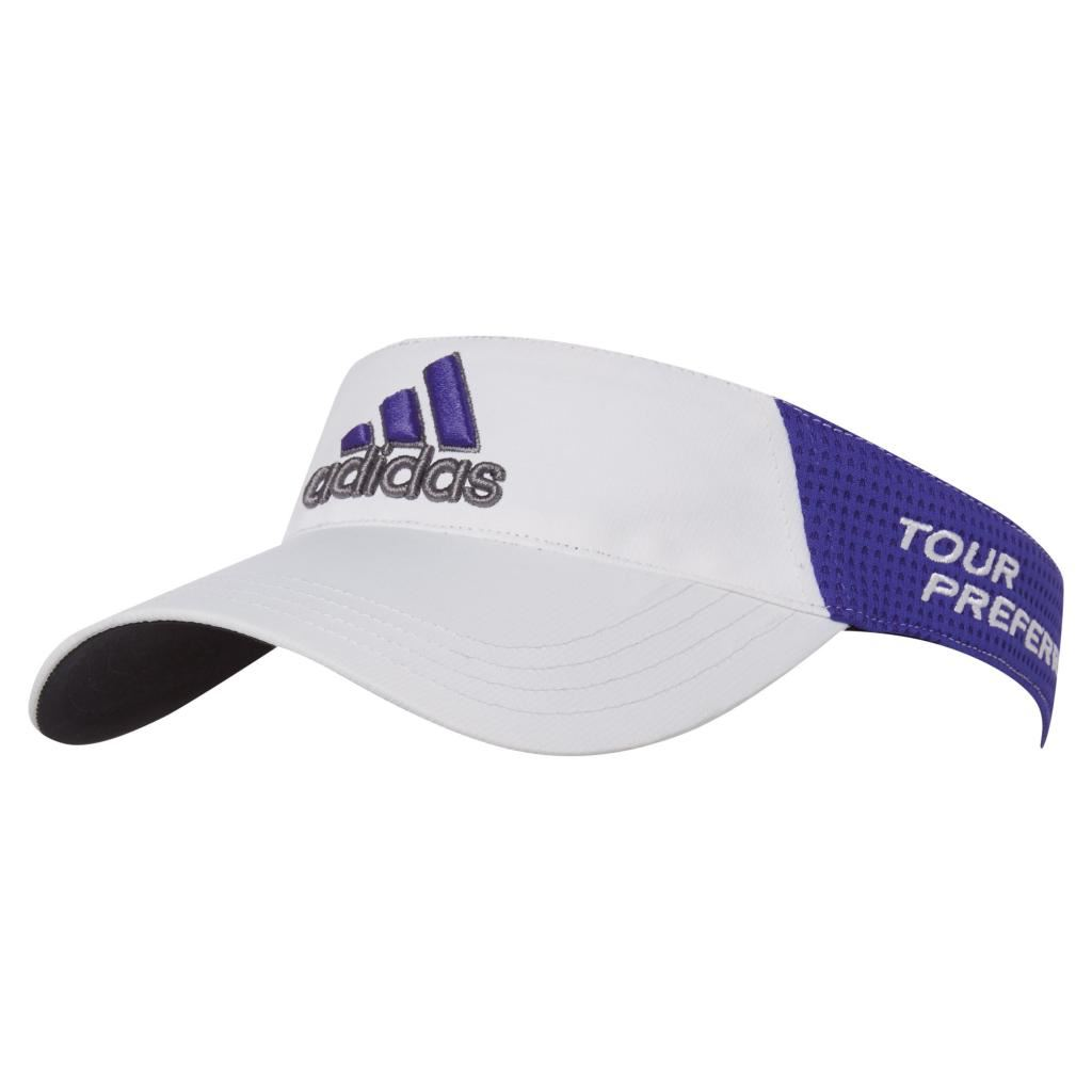 Adidas Tour Preferred Mens Adjustable Funky Golf Visor -NEW 2015  998f31bbecc