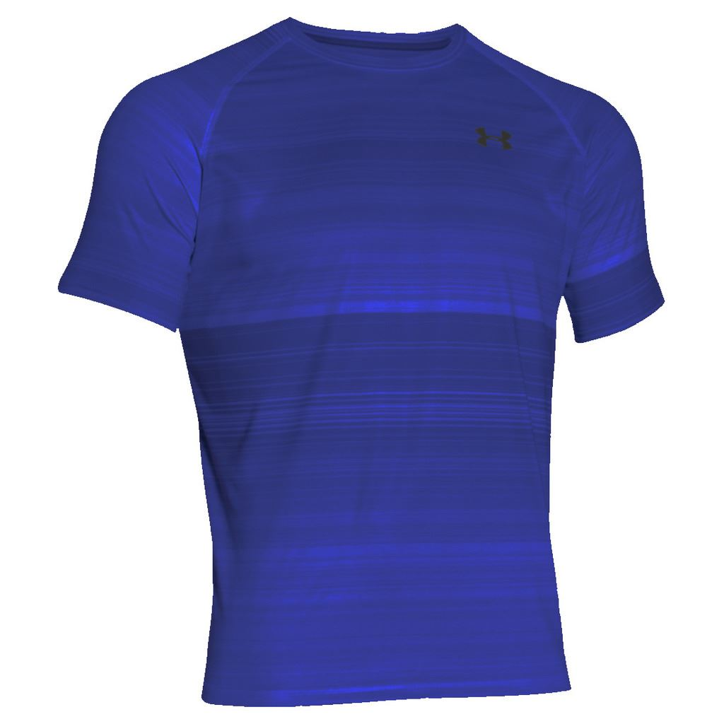 2016 under armour tech printed patterned tee mens for Under armour printed t shirts