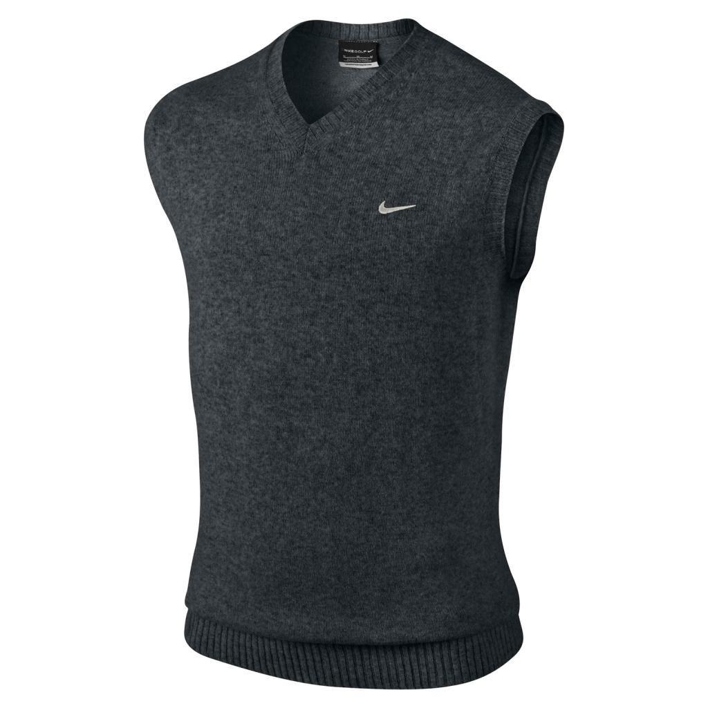 2014-NIKE-Lambswool-Seamless-Golf-Sweater-Vest-V-Neck-Mens-Sleeveless-Jumper