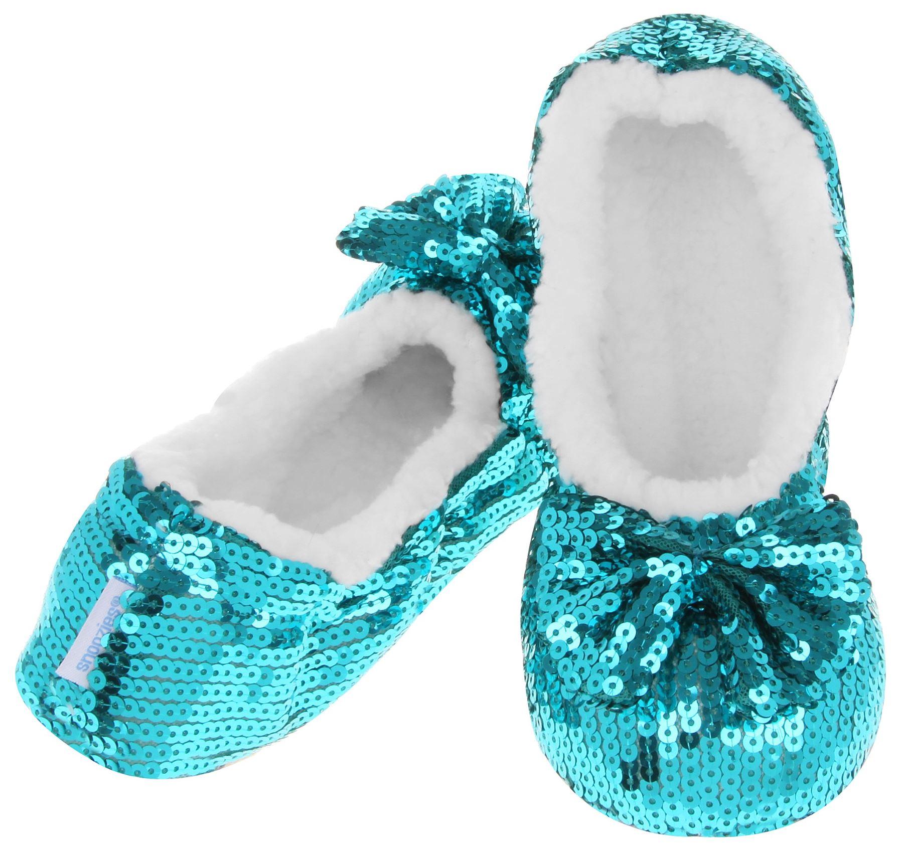 Black Sequin Ballerina Shoes