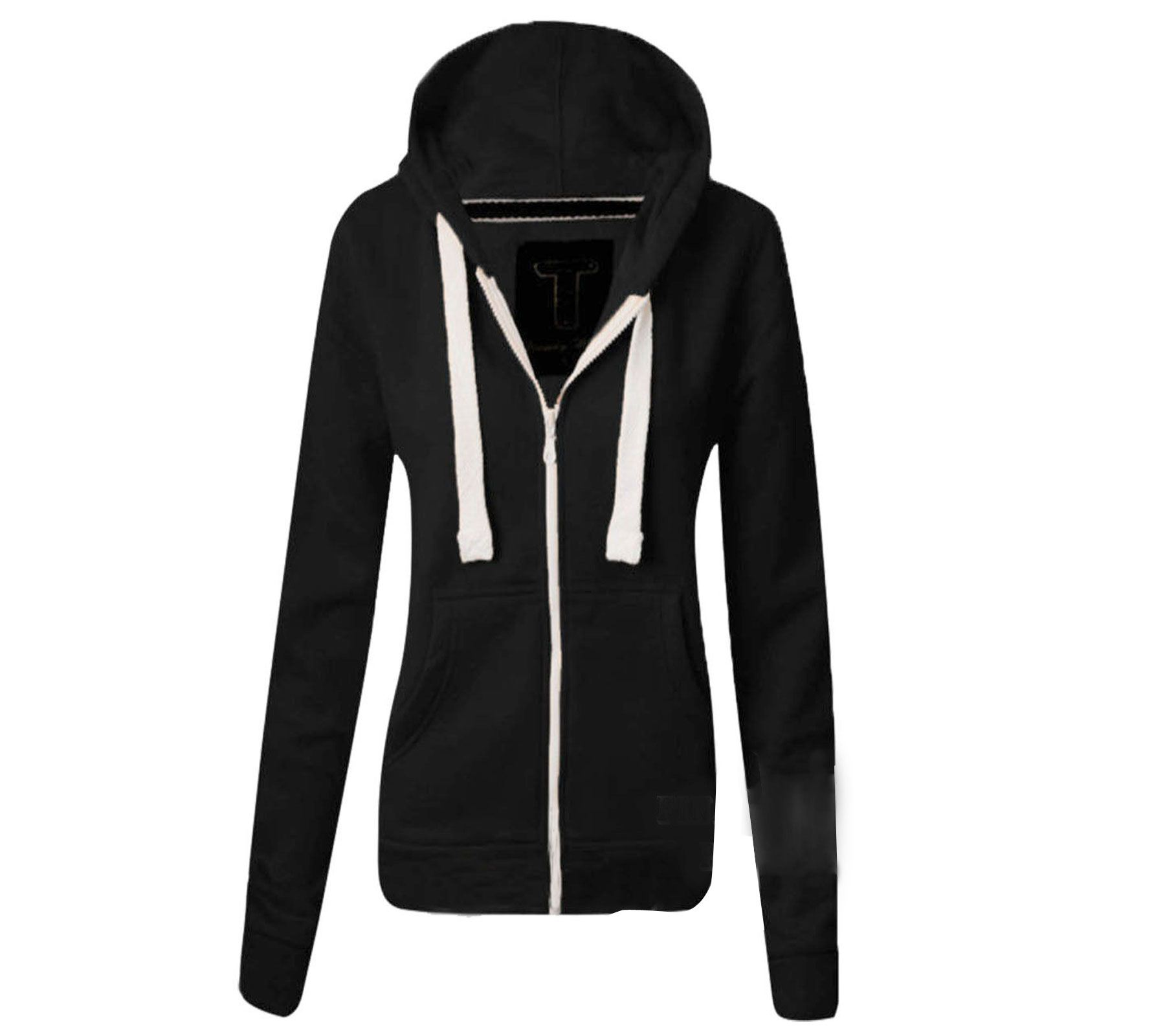 Fashion Ladies Hoodie Sweatshirt Sweater Womens Jacket Coat | Fashion