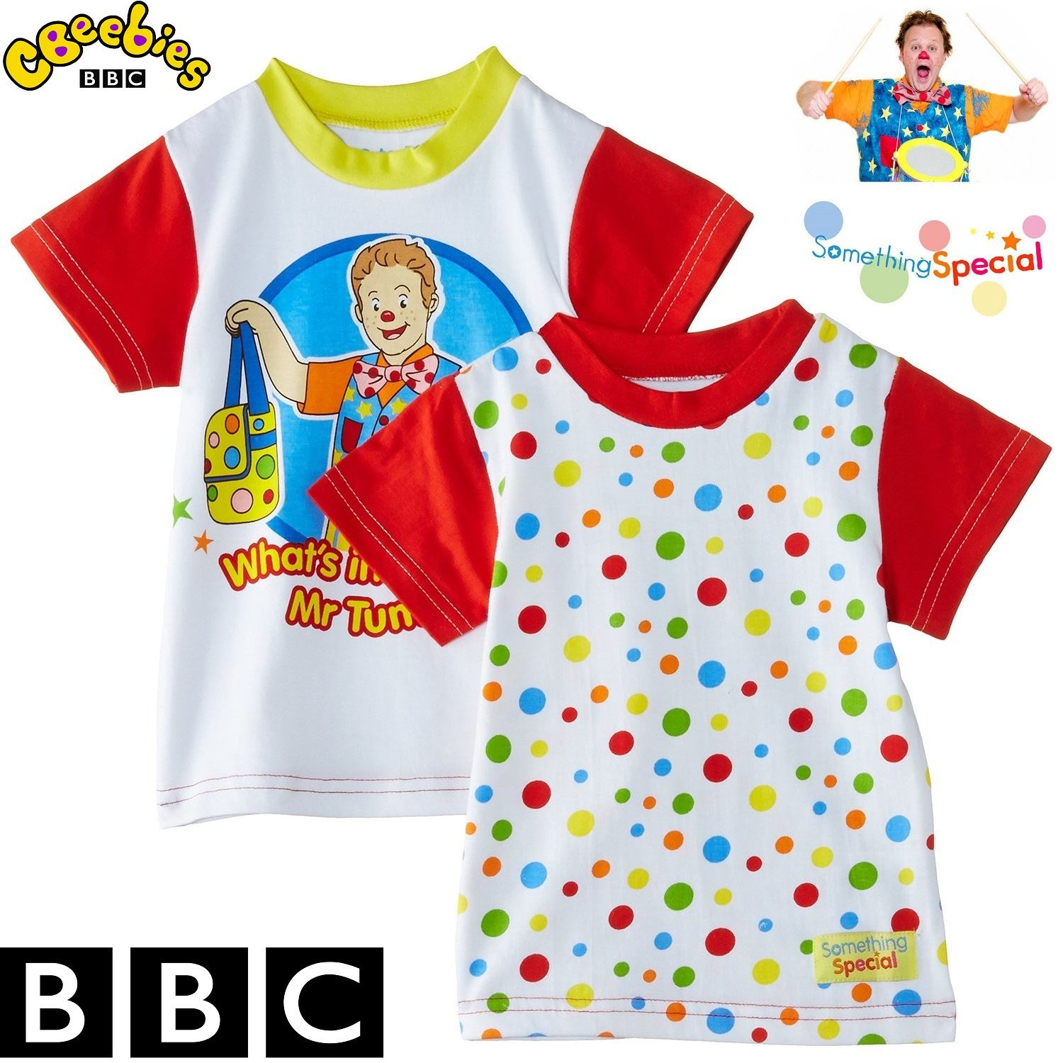 BBC Something Special® Mr Tumble Children Kids Baby Spotty ...