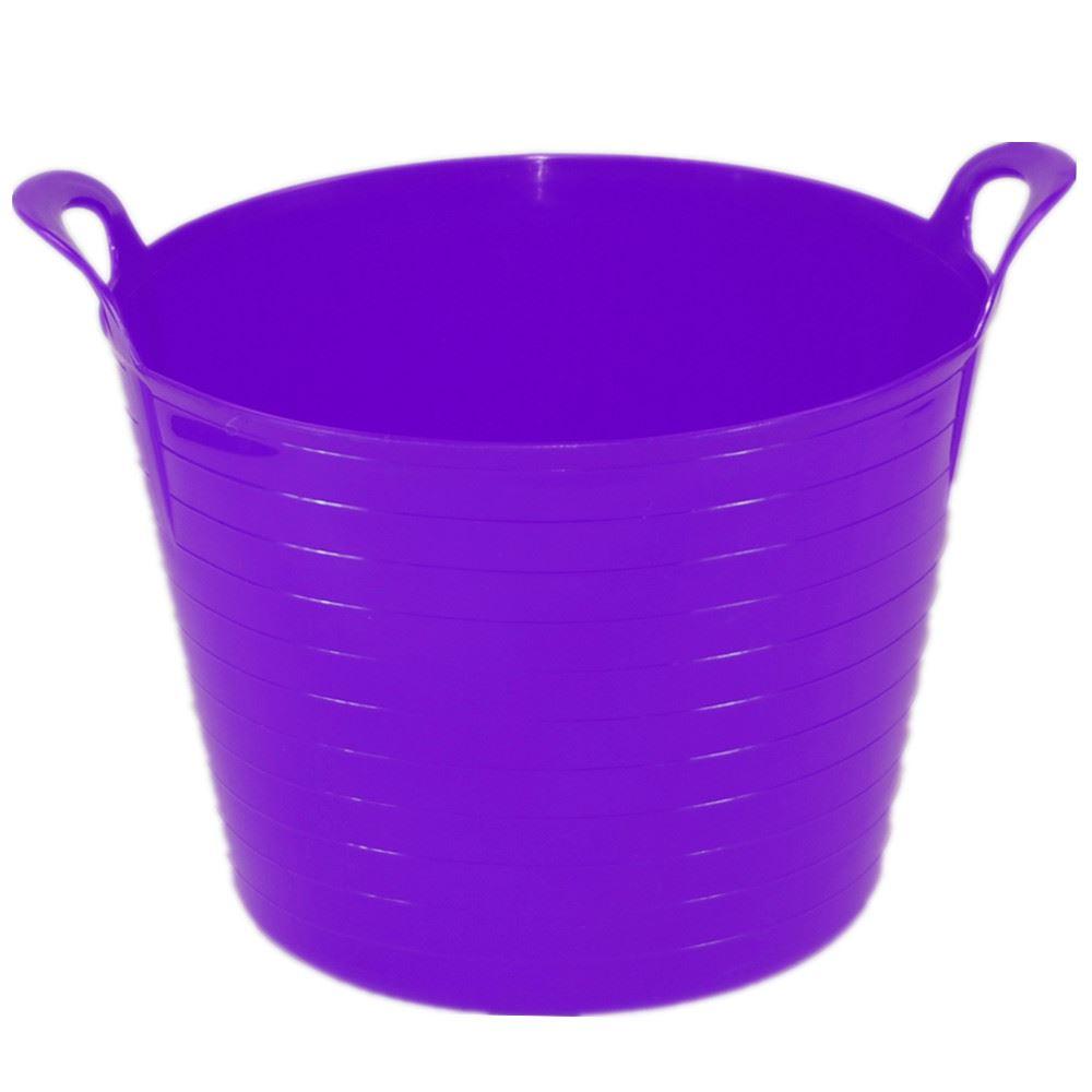 42 Litre Large Flexi Tub Flexible Colour Storage Container