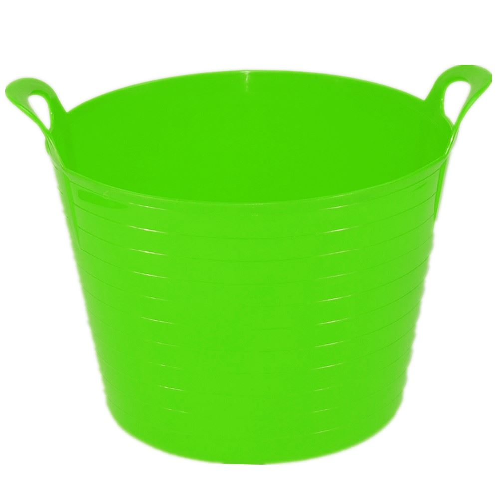 42 Litre Large Flexi Tub Garden Home Rubber Container Bucket - MADE ...