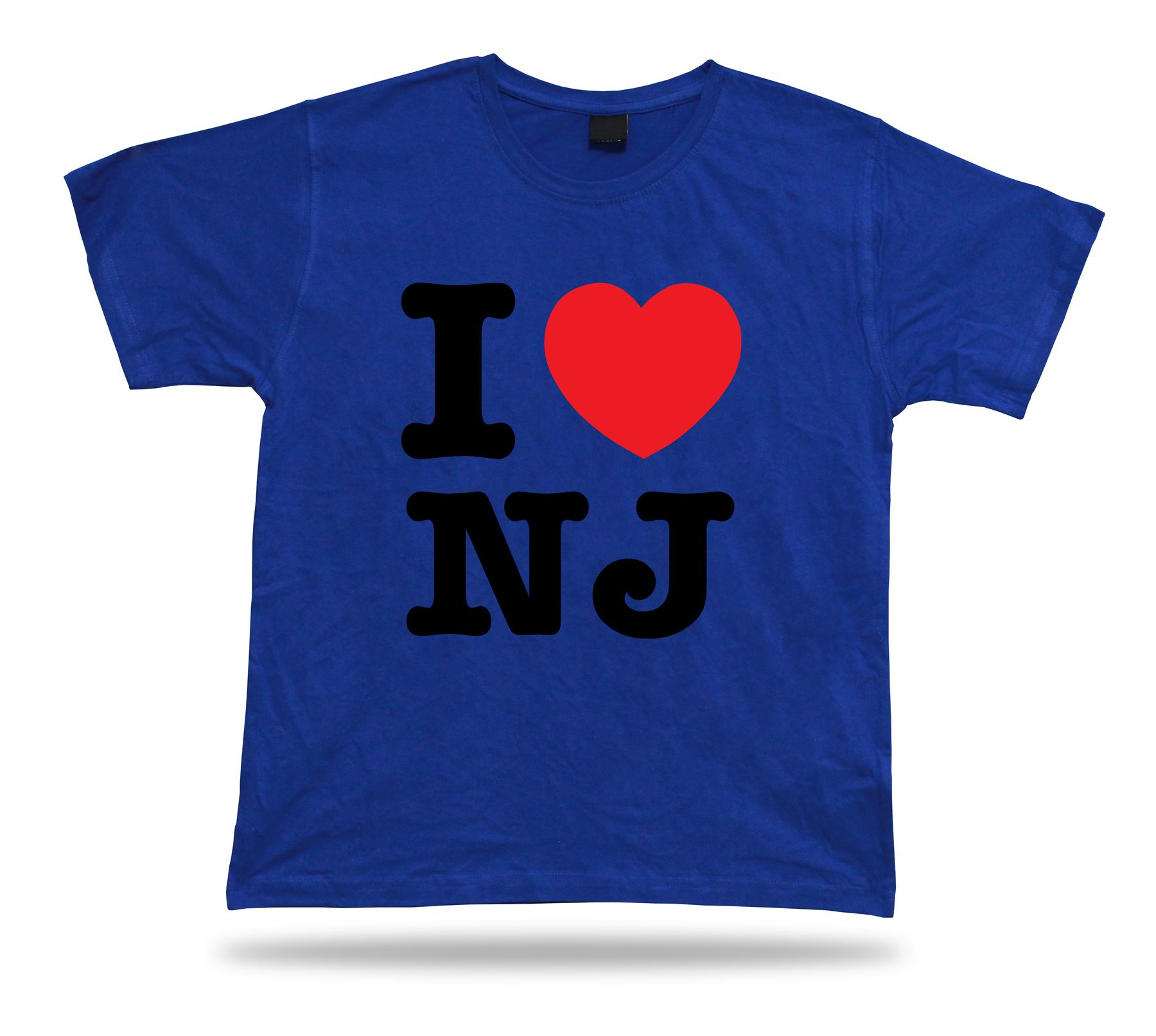 I love nj new jersey t shirt heart garden newark devil for Garden t shirt designs