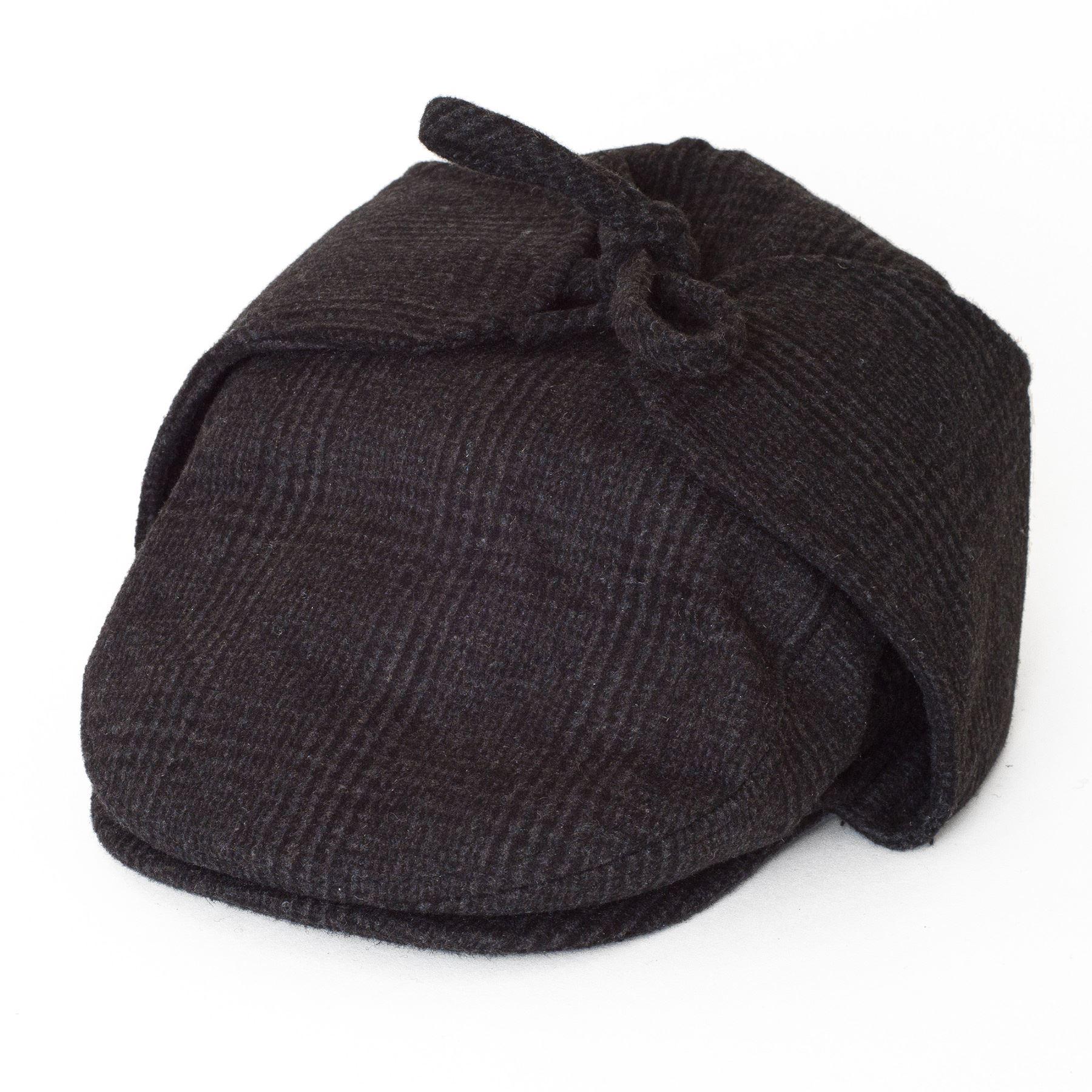 casquette de sport plate avec cache oreilles en laine m lang ebay. Black Bedroom Furniture Sets. Home Design Ideas