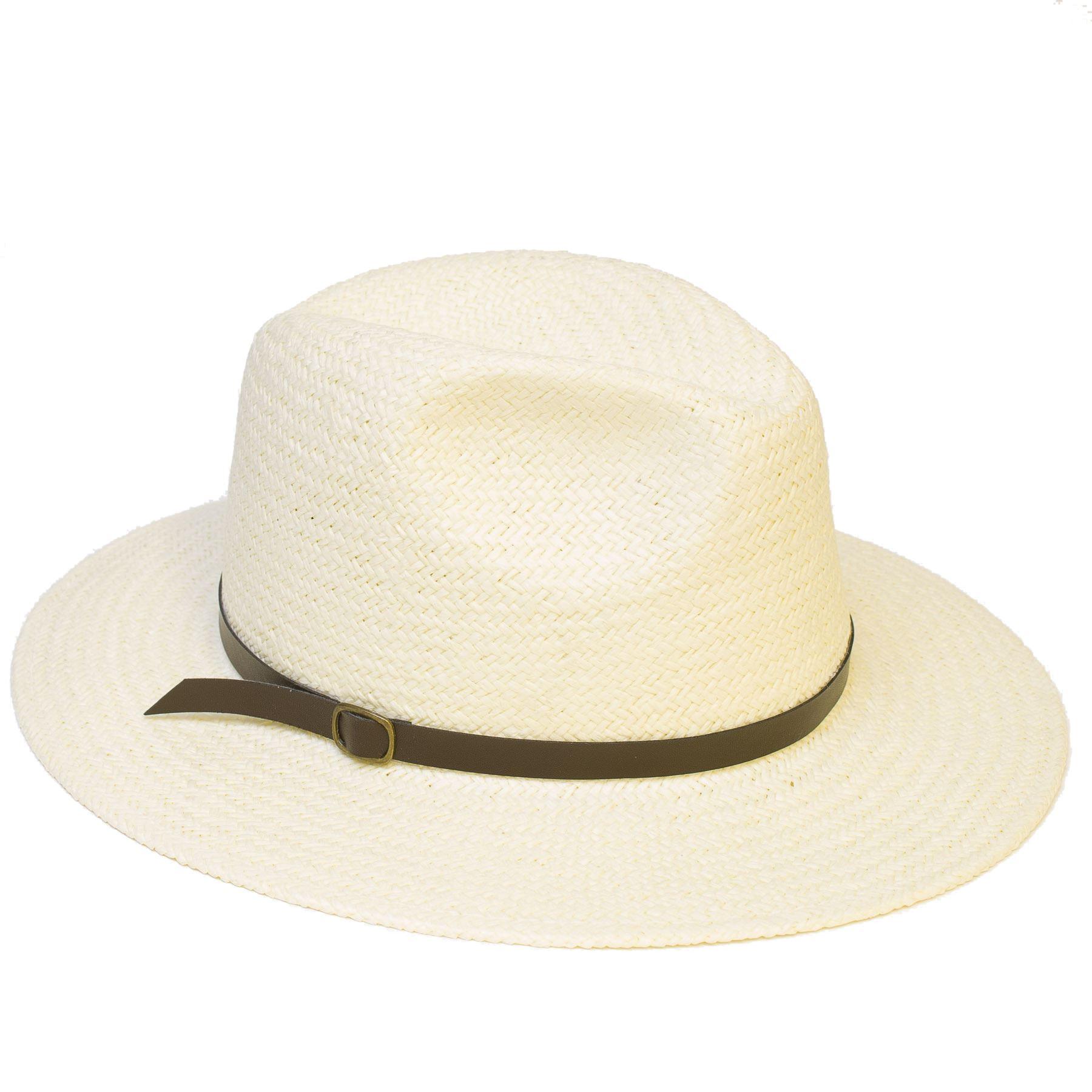 Panama Style Cream Fedora Hat | eBay