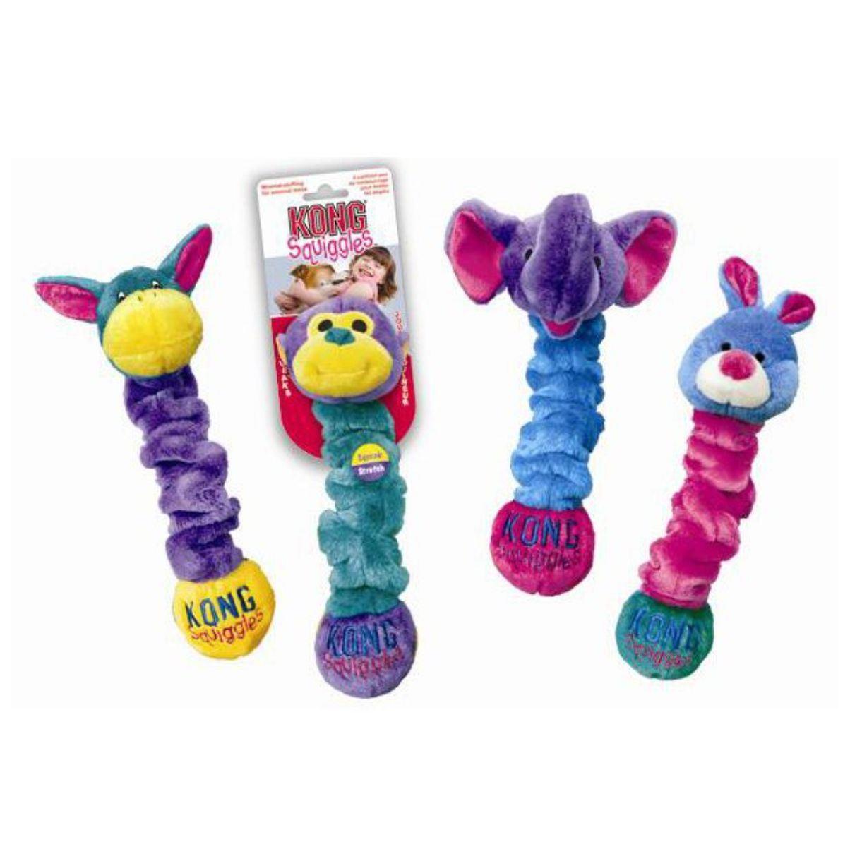 Plush Dumbbell Dog Toy