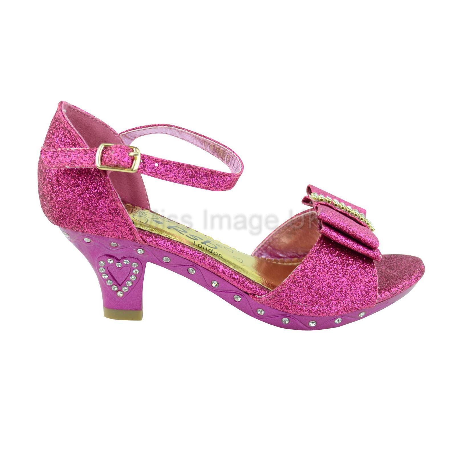 Girls Pink Heels