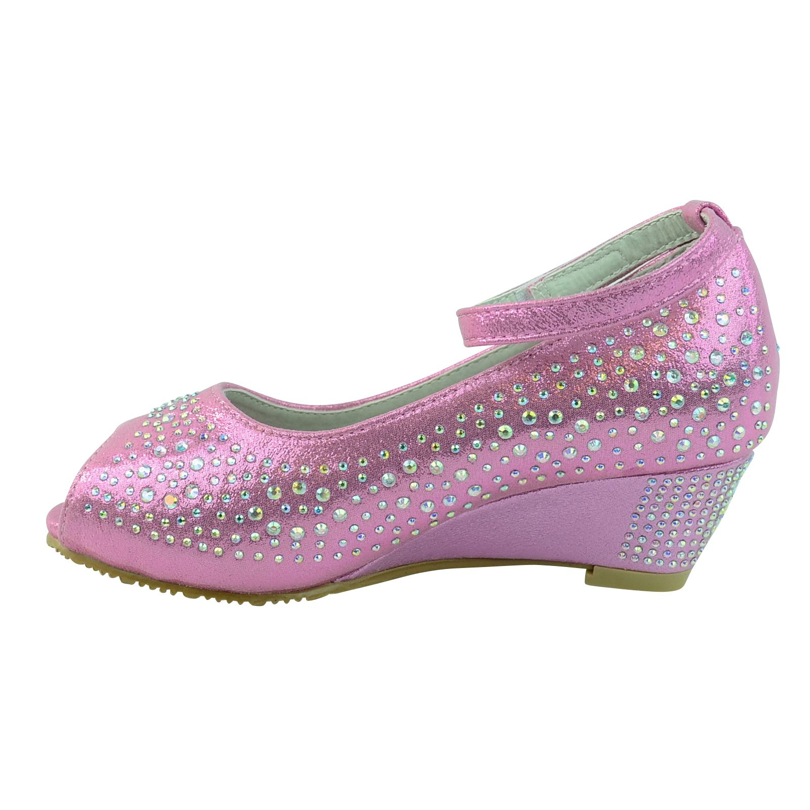 childrens wedge heel wedding style