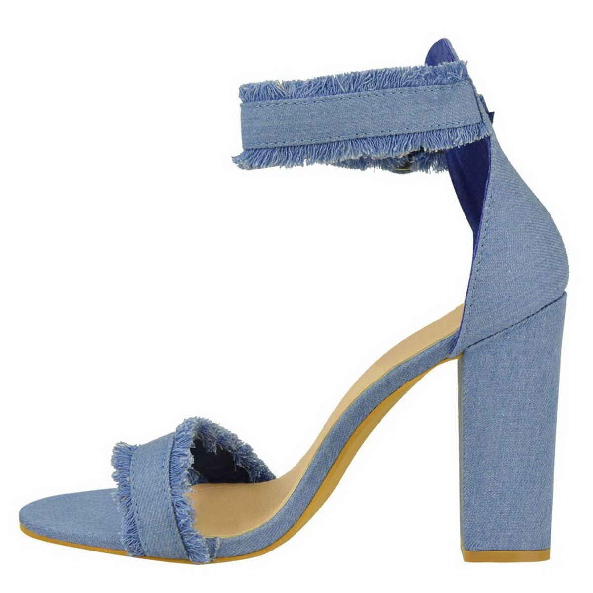 Ladies Ankle Strap Shoes Size