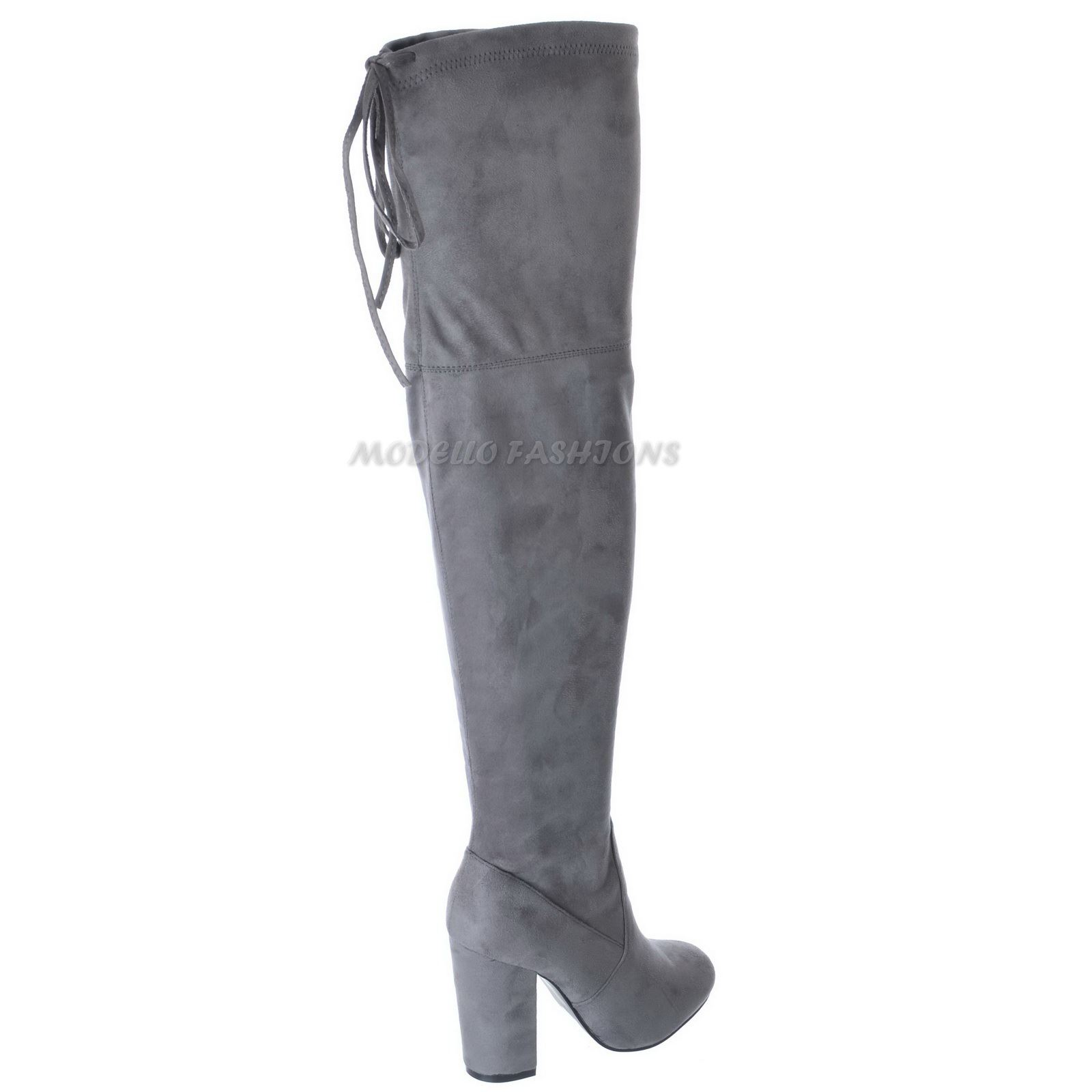 womens the knee thigh high boots stretch mid