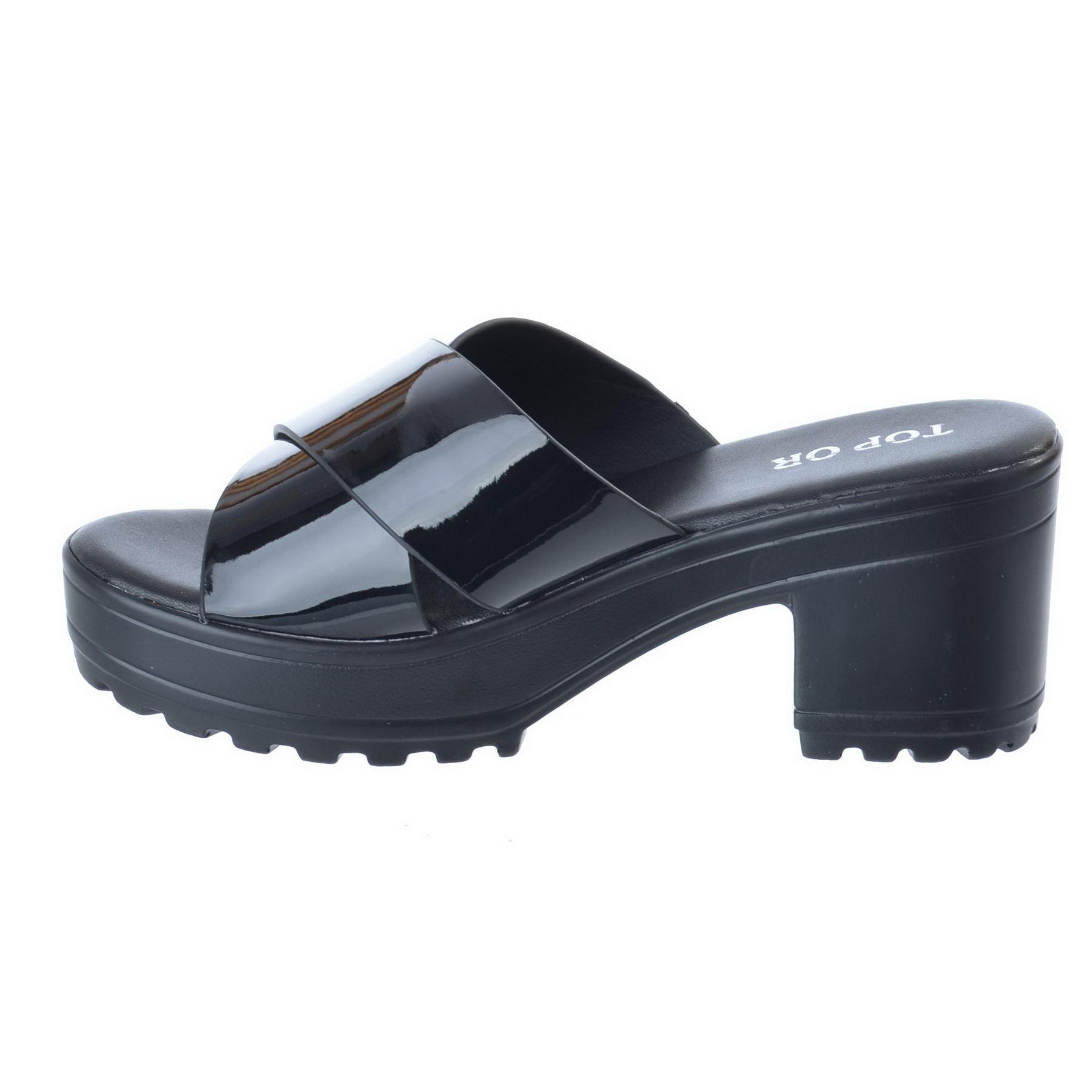 new womens strappy crossover platform mid heel