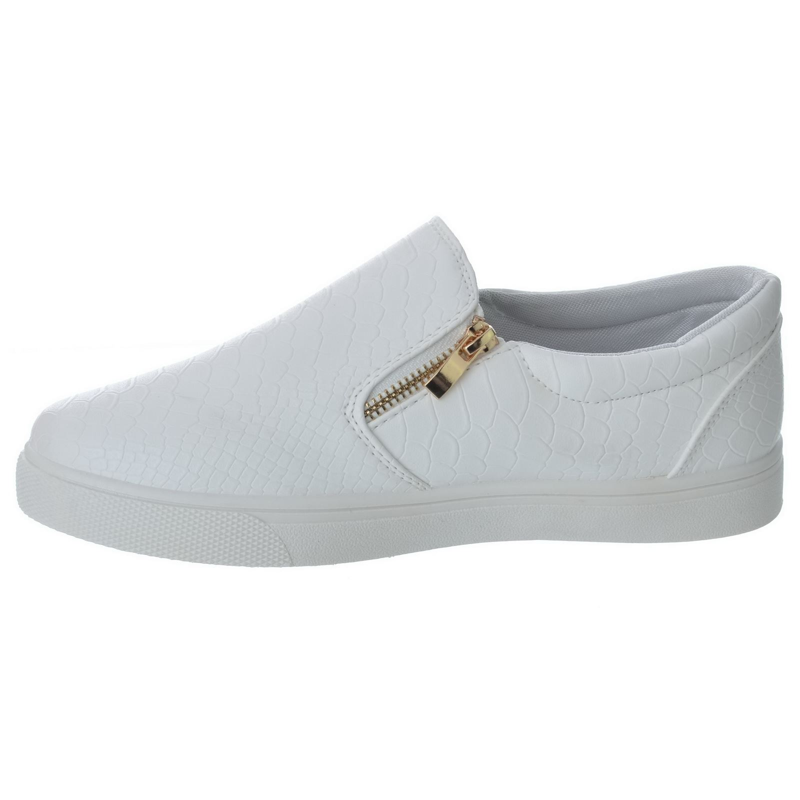 White Skater Shoes Womens