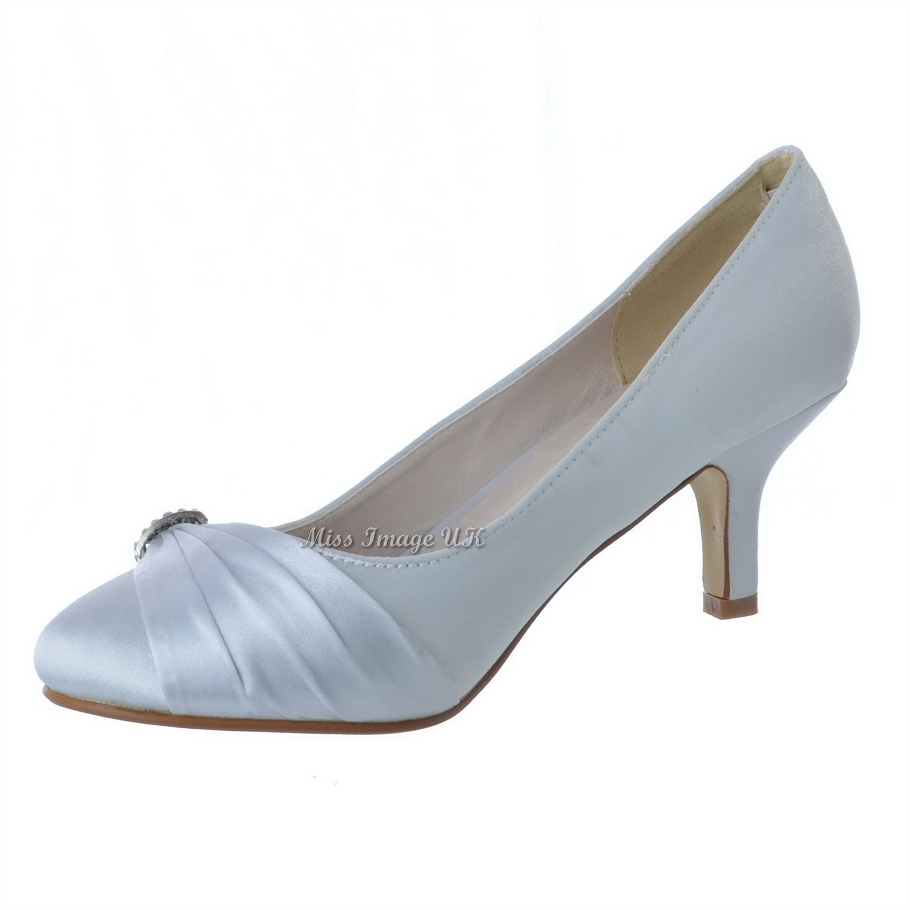 Wedding Shoes Low Heel W