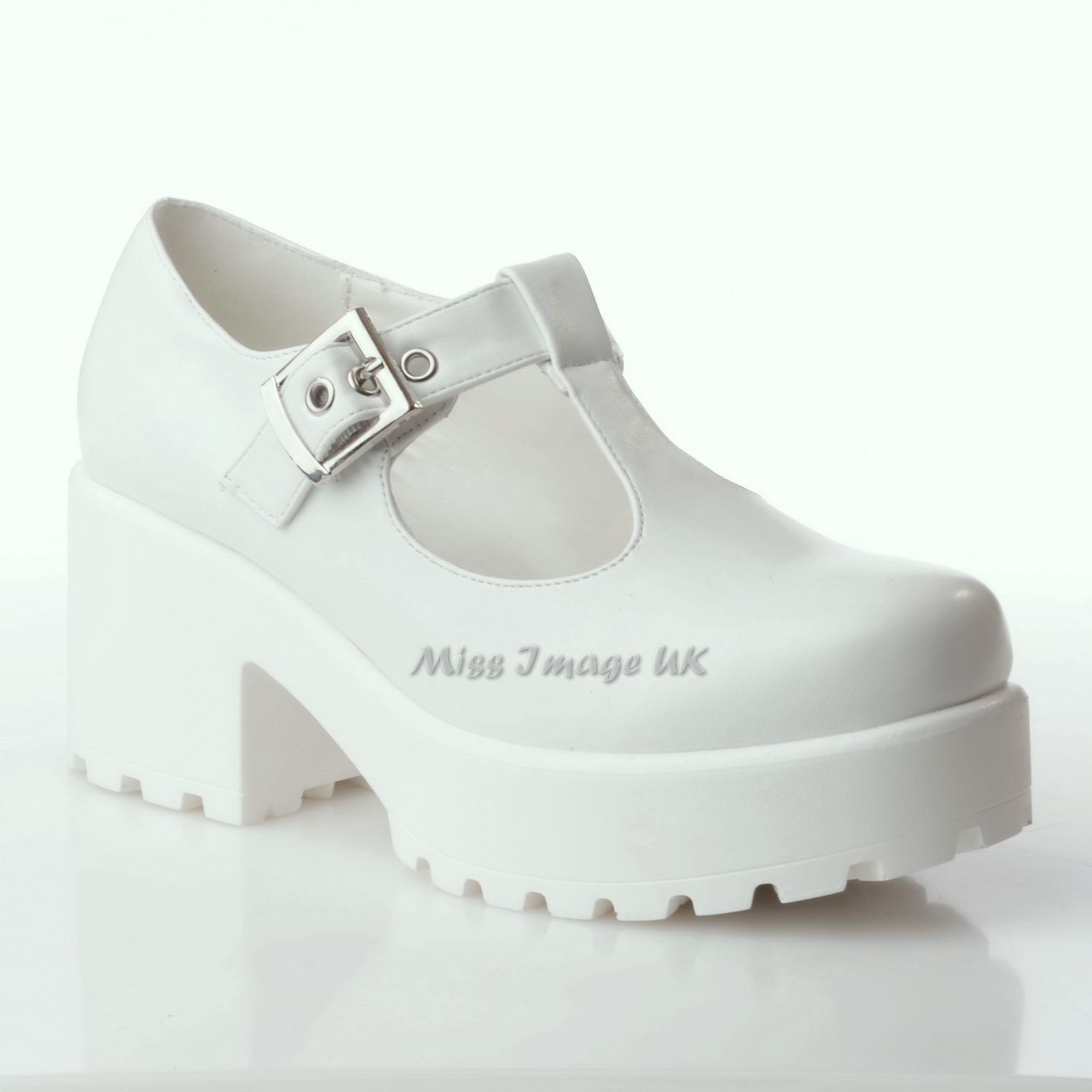 NEW-LADIES-WOMENS-CHUNKY-MID-BLOCK-HEEL-PLATFORM-T-BAR-CUT-OUT-BUCKLE-SHOES-SIZE