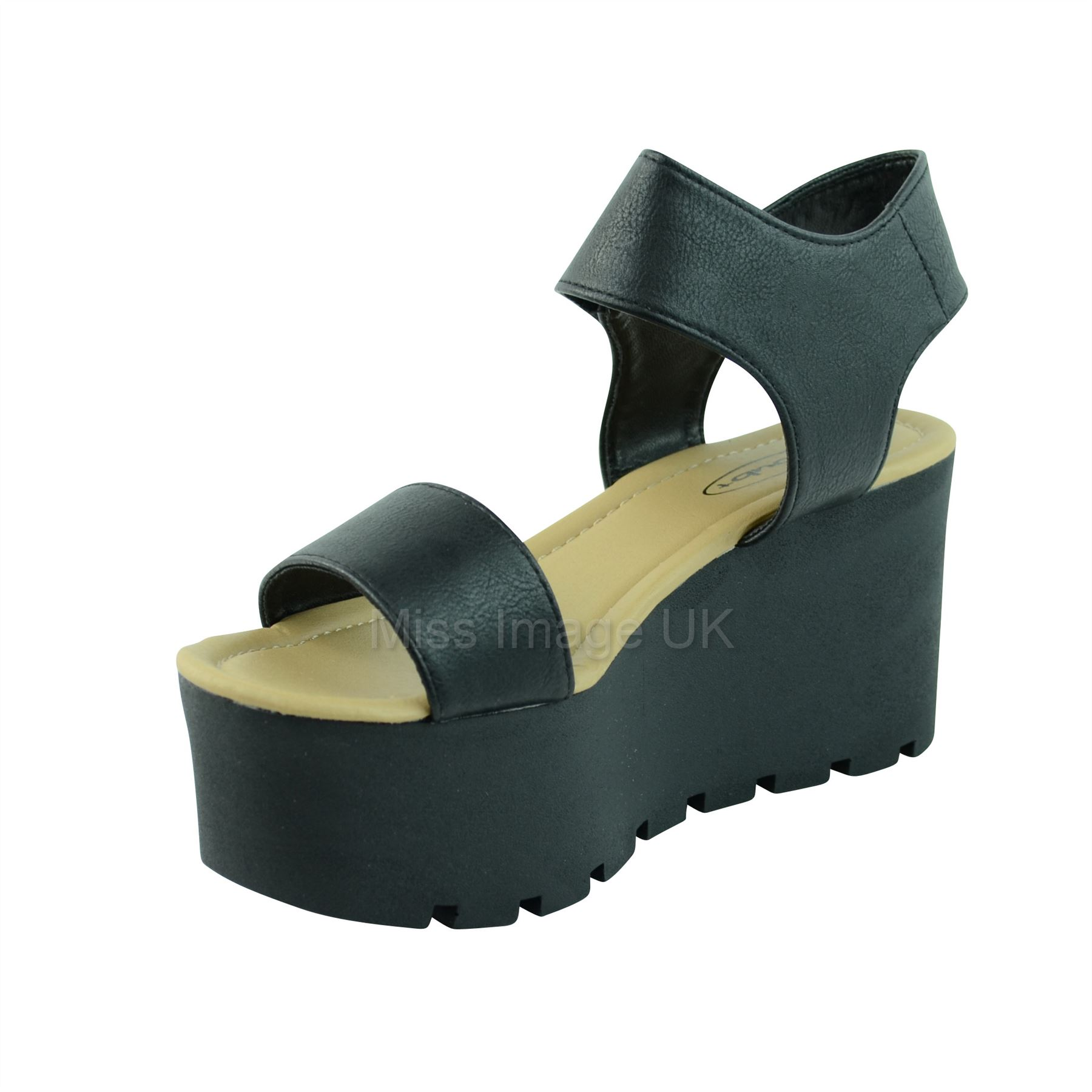 LADIES-WOMENS-CHUNKY-SOLE-PLATFORM-SUMMER-SANDALS-WEDGES-PLATFORMS-SHOE-SIZE