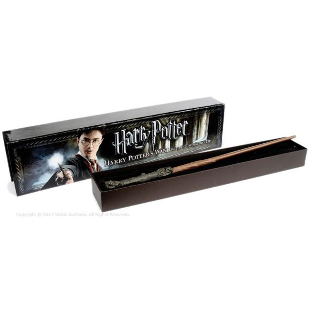 Industrial Light And Magic Harry Potter: Harry Potters Illuminating Light Up Wand