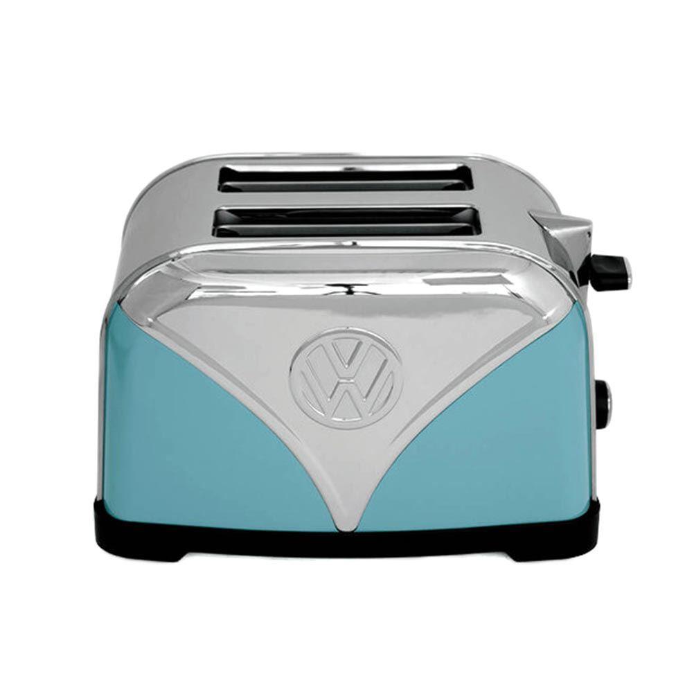 Retro Kitchen Small Appliances Official Vw Red Volkswagen Logo Design Kitchen Toaster 2 Slice