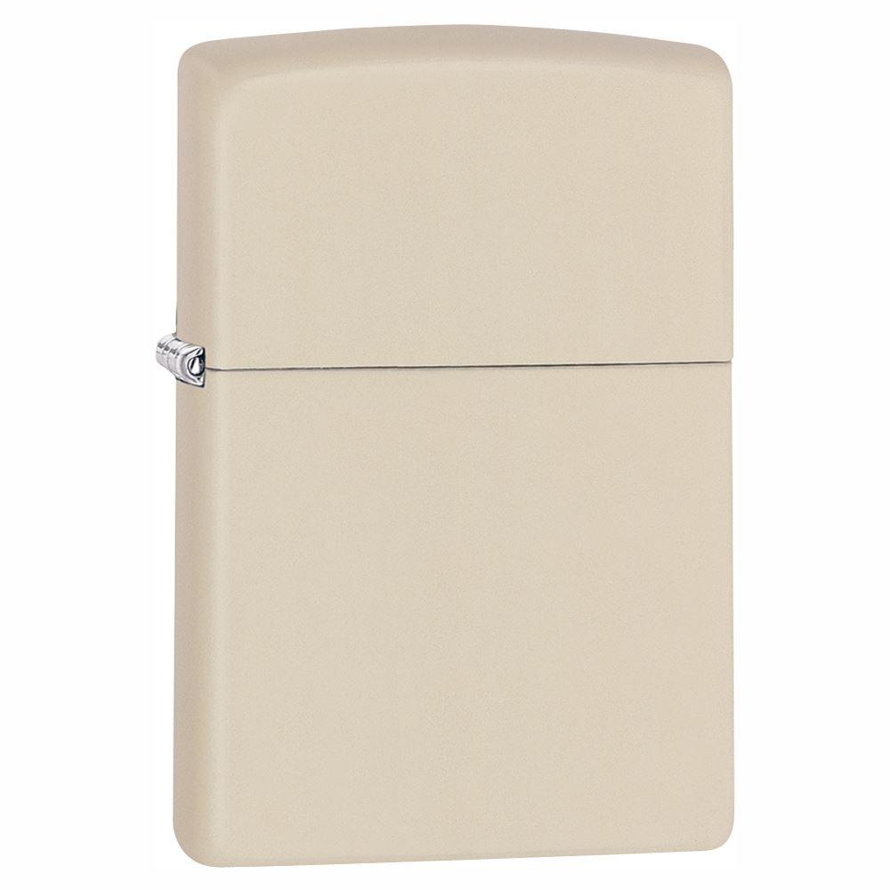 Official Plain Cream Matte Zippo Lighter - Gift Boxed Ladies | eBay