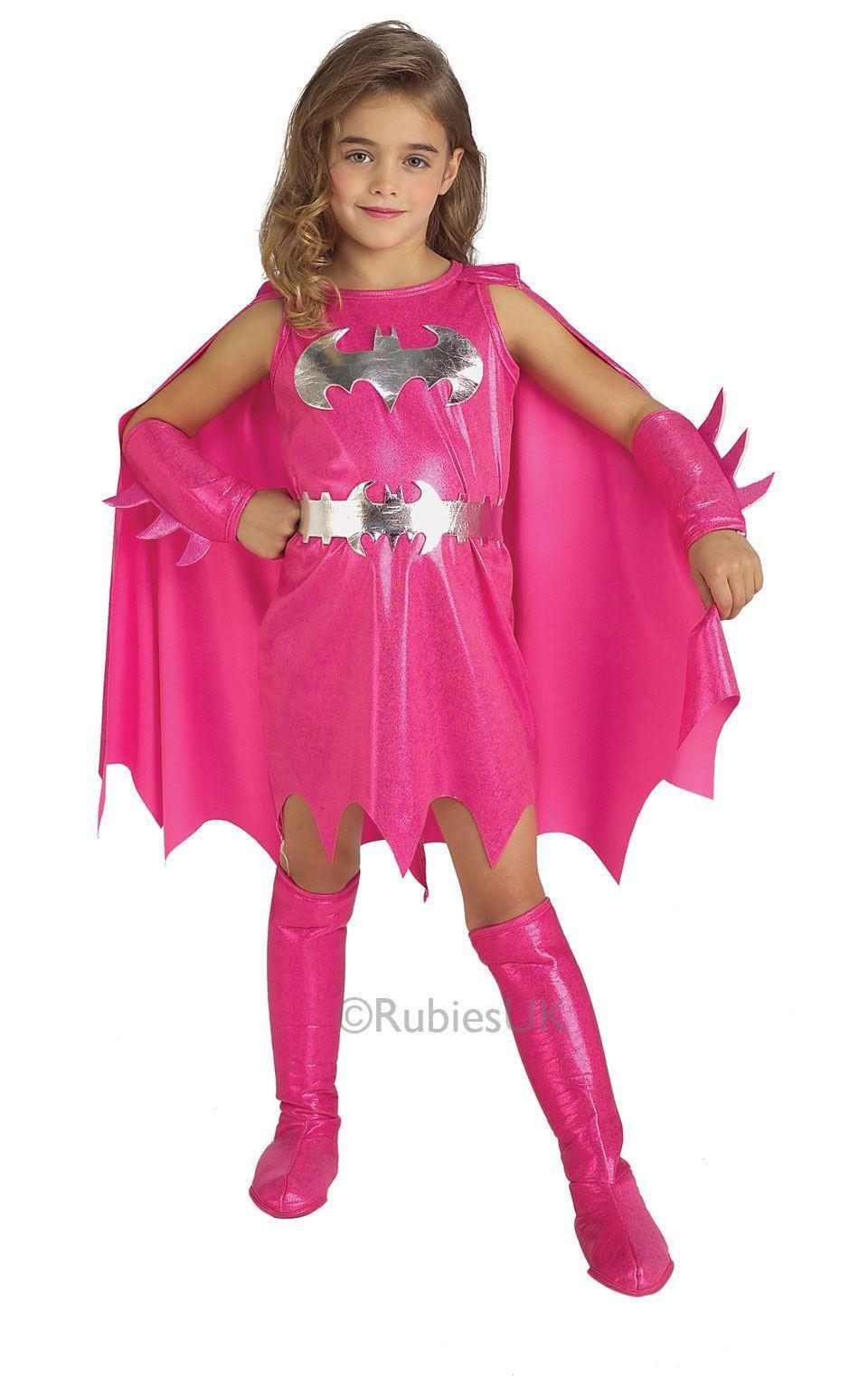 Girls-Deluxe-Child-Superhero-Kids-Storybook-Comic-Movie-Fancy-Dress-Costume