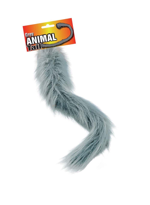 50cm Fur Animal Tails Cat Dog Fox Lion Dog Monkey Wolf Fancy Dress Costume