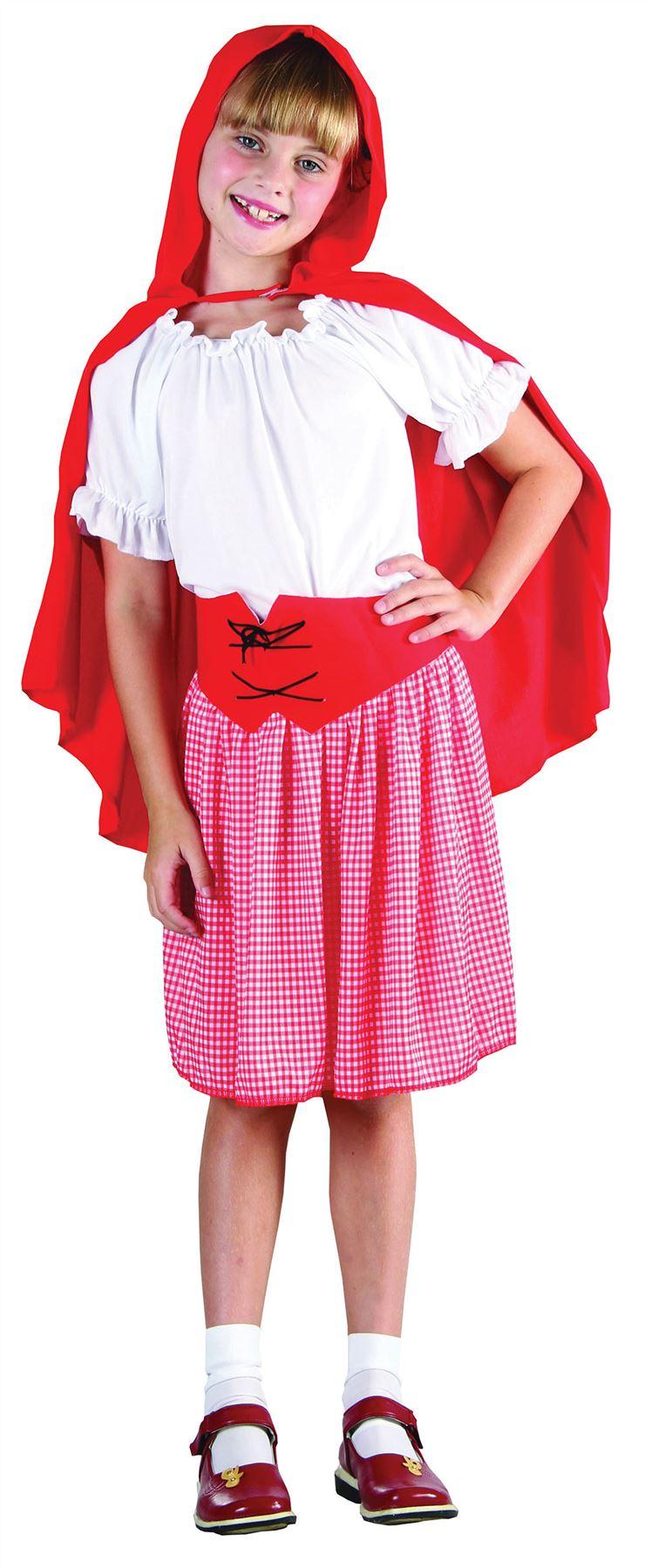 ... -BOOK-WEEK-LITTLE-RED-RIDING-HOOD-FANCY-DRESS-COSTUME-WORLD-BOOK-DAY