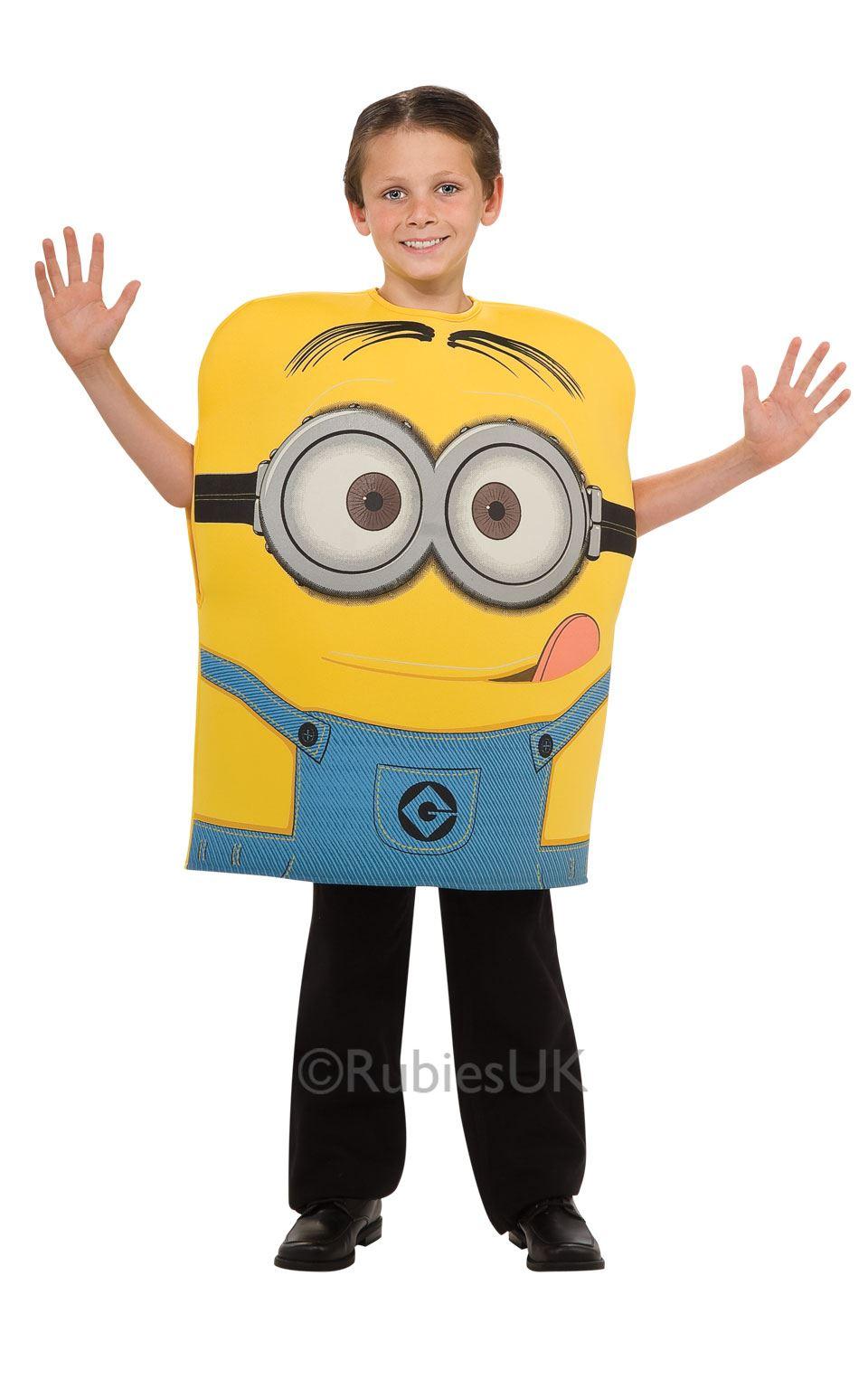 Mens despicable me gru dave bob minion fancy dress costume film ebay
