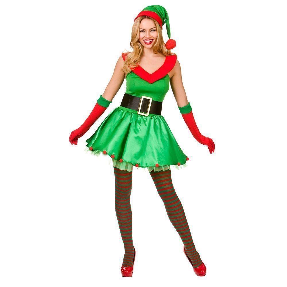 Adult Elf Fancy Dress 27
